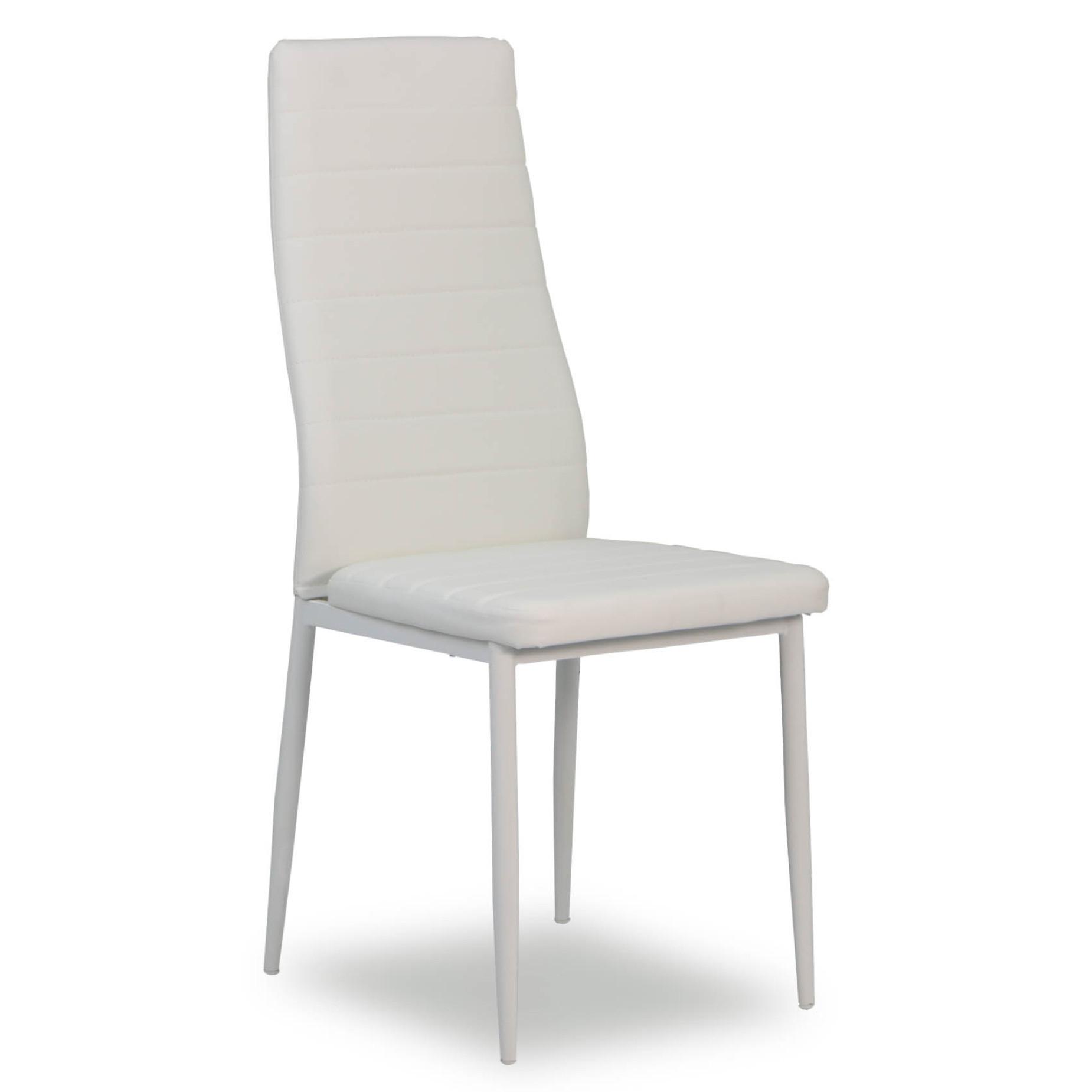 Quinn Dining Chair White | Furniture & Home Décor | Fortytwo Inside Quinn Teak Sofa Chairs (Photo 6 of 20)