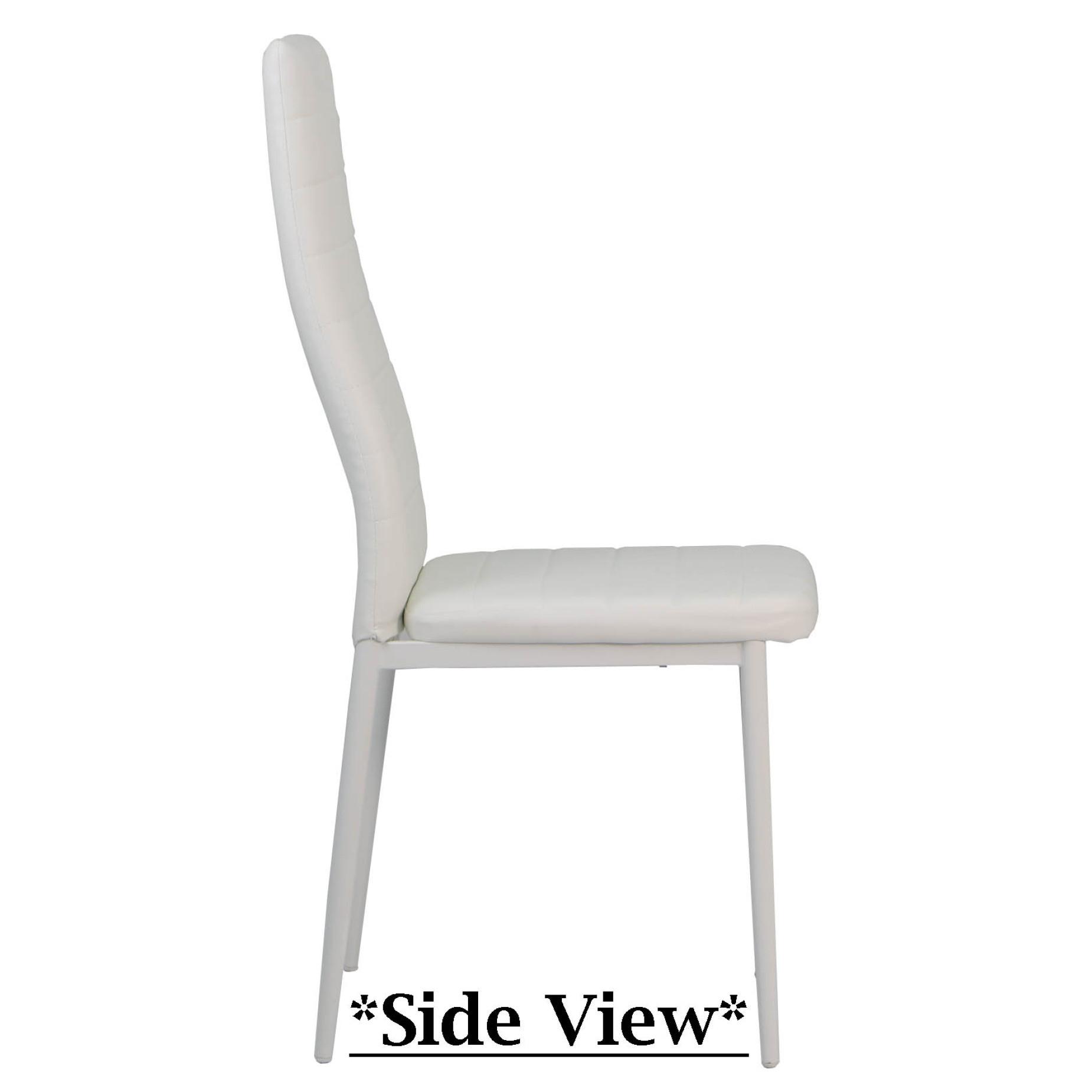 Quinn Dining Chair White | Furniture & Home Décor | Fortytwo Regarding Quinn Teak Sofa Chairs (View 8 of 20)