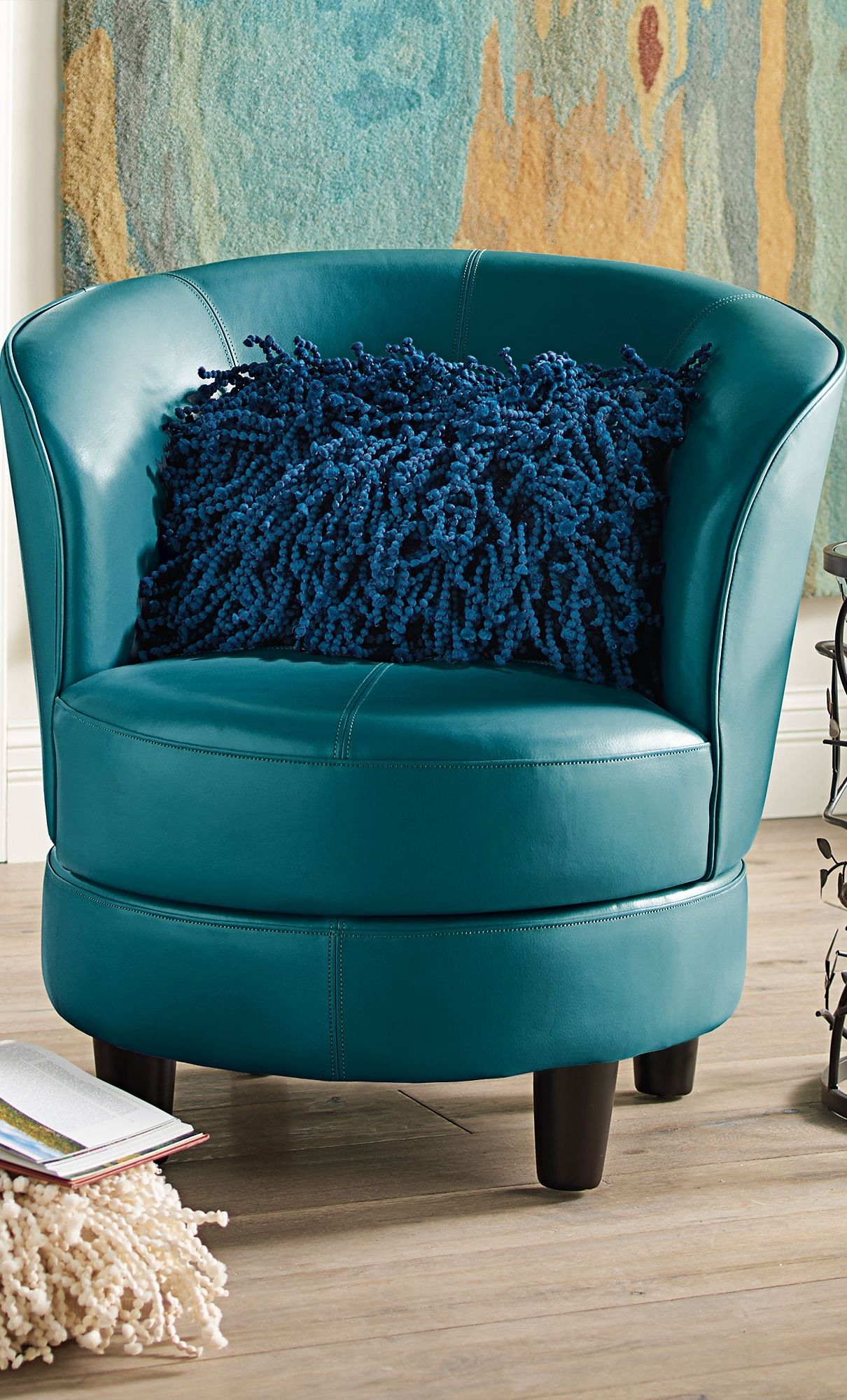 Rebecca Swivel Chair | Chairs With Character | Pinterest In Grandin Leather Sofa Chairs (Image 18 of 20)