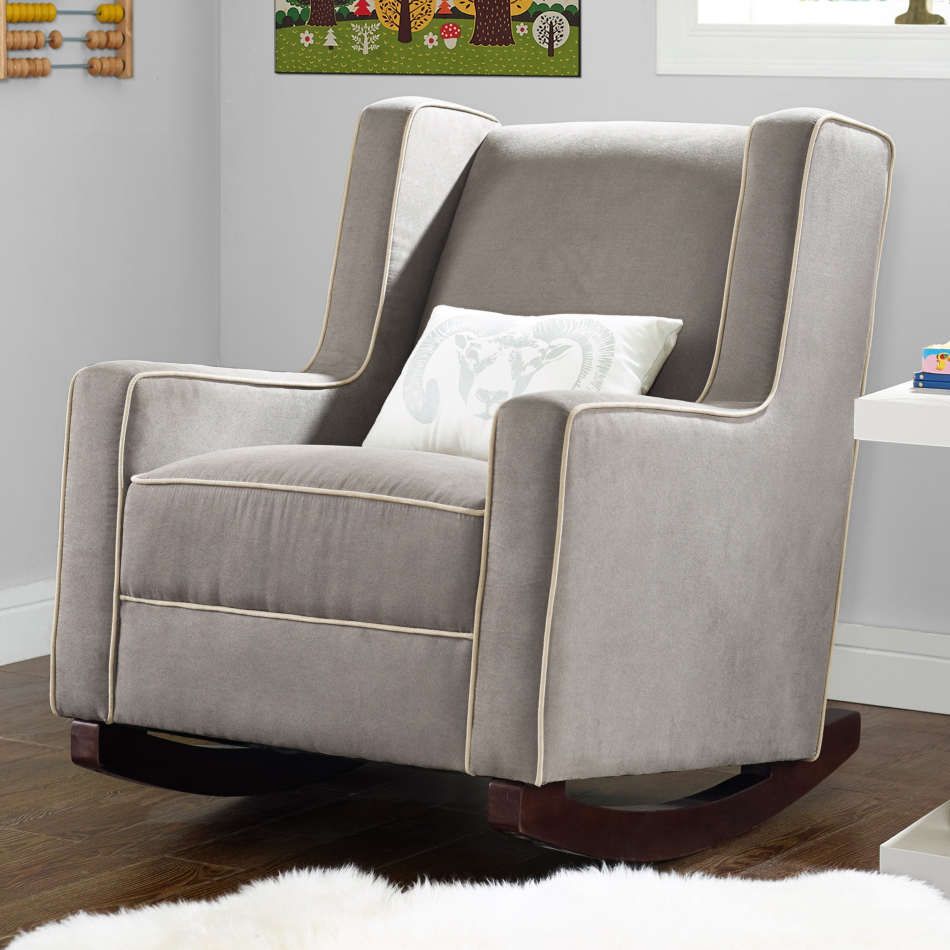Recliner : Baby Relax Abby Rocker Luxury Glider And Recliner For In Abbey Swivel Glider Recliners (View 4 of 20)