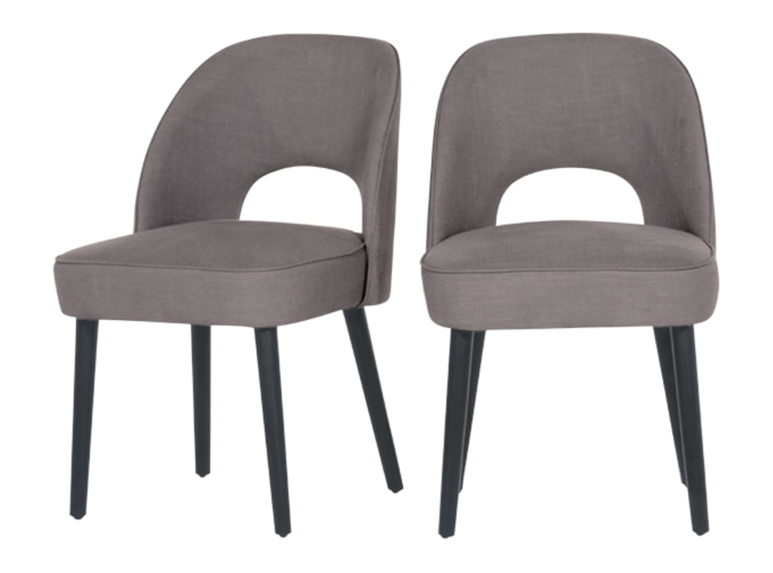 Rory Dining Chair, Graphite Grey | Made In Rory Sofa Chairs (Image 13 of 20)