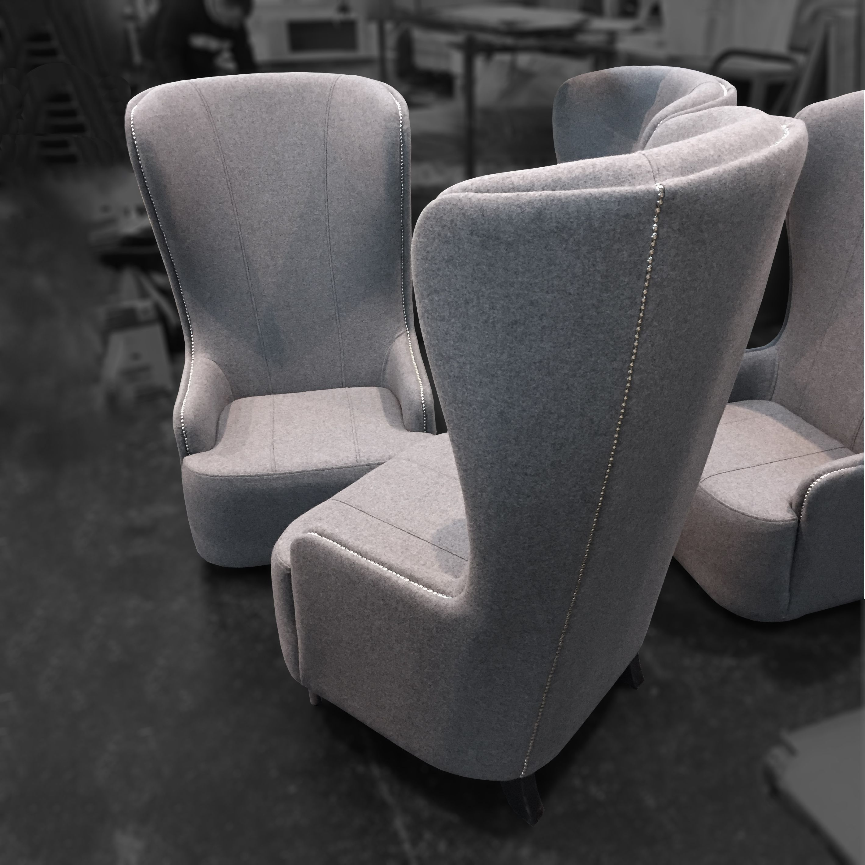 Rory Highback Chairs For Coventry University | Ob&b Customer Orders Regarding Rory Sofa Chairs (Image 14 of 20)