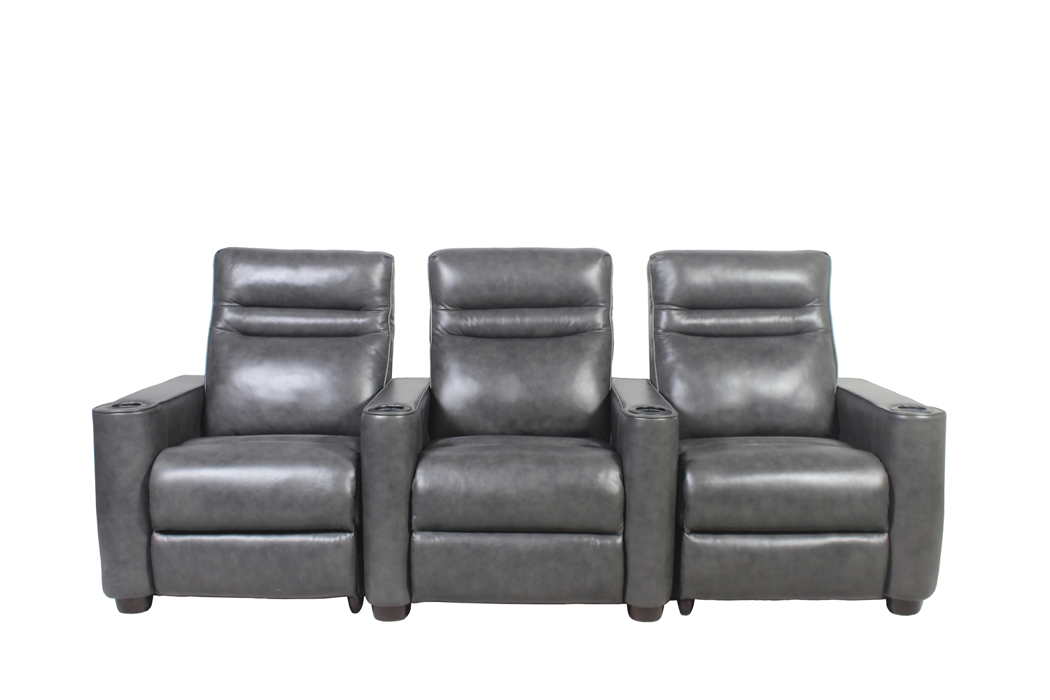 Rowone Home Entertainment Throughout Mansfield Cocoa Leather Sofa Chairs (Image 17 of 20)