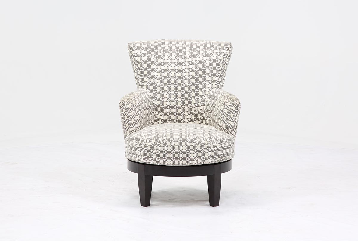 Sadie Swivel Chair | Living Spaces Pertaining To Sadie Ii Swivel Accent Chairs (View 2 of 20)