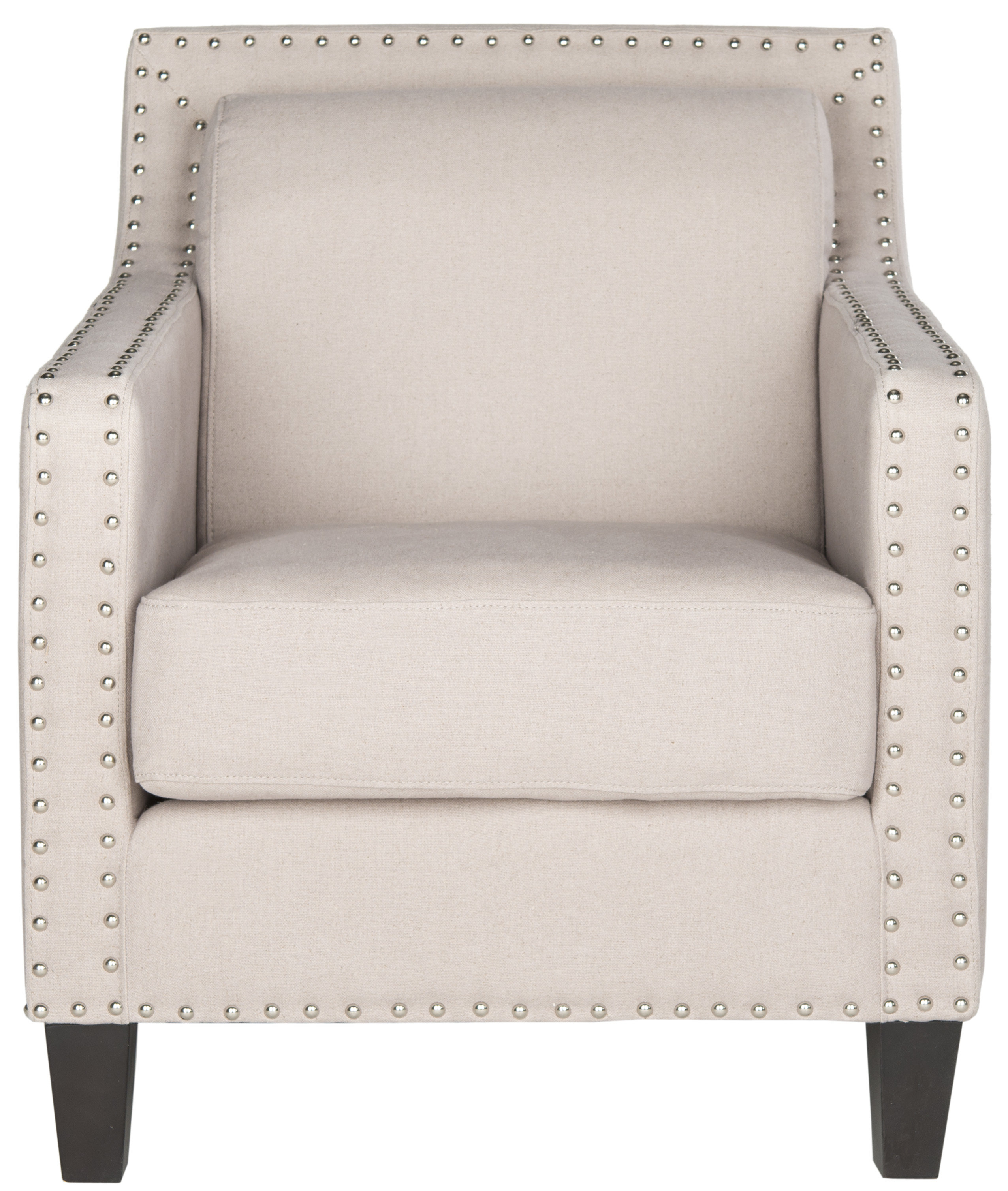 Safavieh Lucy Armchair & Reviews | Wayfair Within Lucy Grey Sofa Chairs (View 14 of 20)