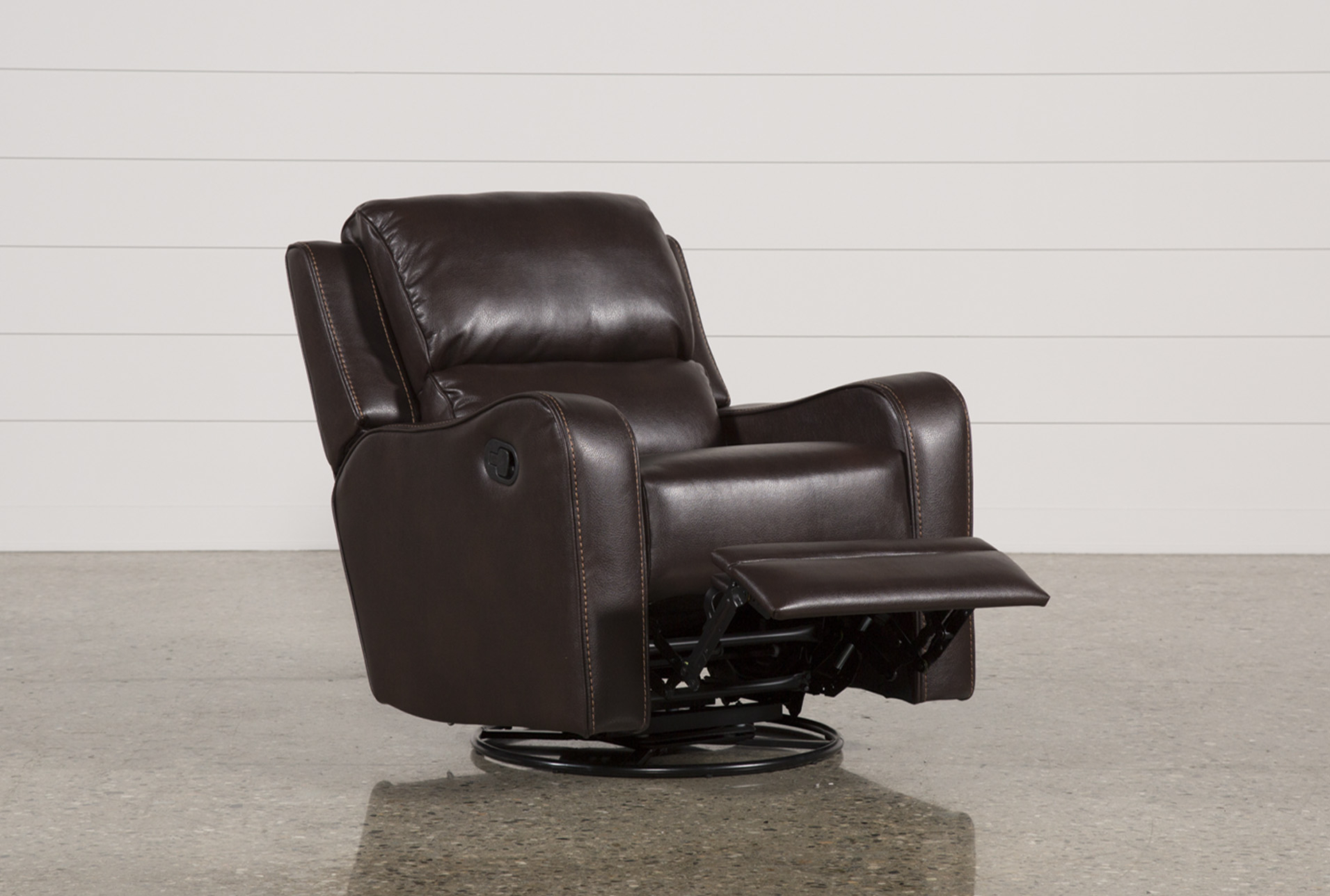 Scorpio Brown Swivel Glider Recliner In 2018 | Products | Pinterest In Kawai Leather Swivel Chairs (View 7 of 20)