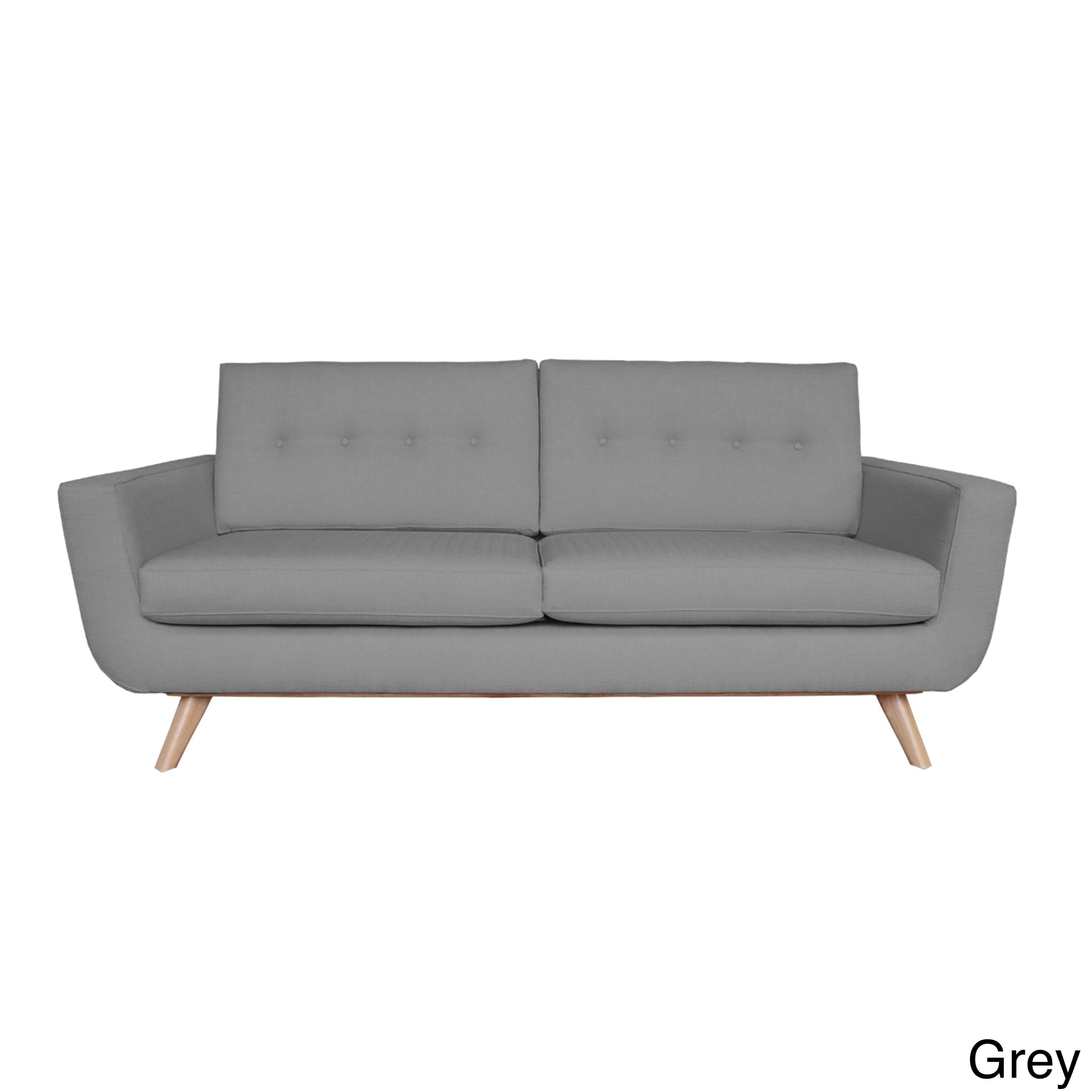 Shop Callie Mid Century Sofa – Free Shipping Today – Overstock With Regard To Callie Sofa Chairs (View 11 of 20)