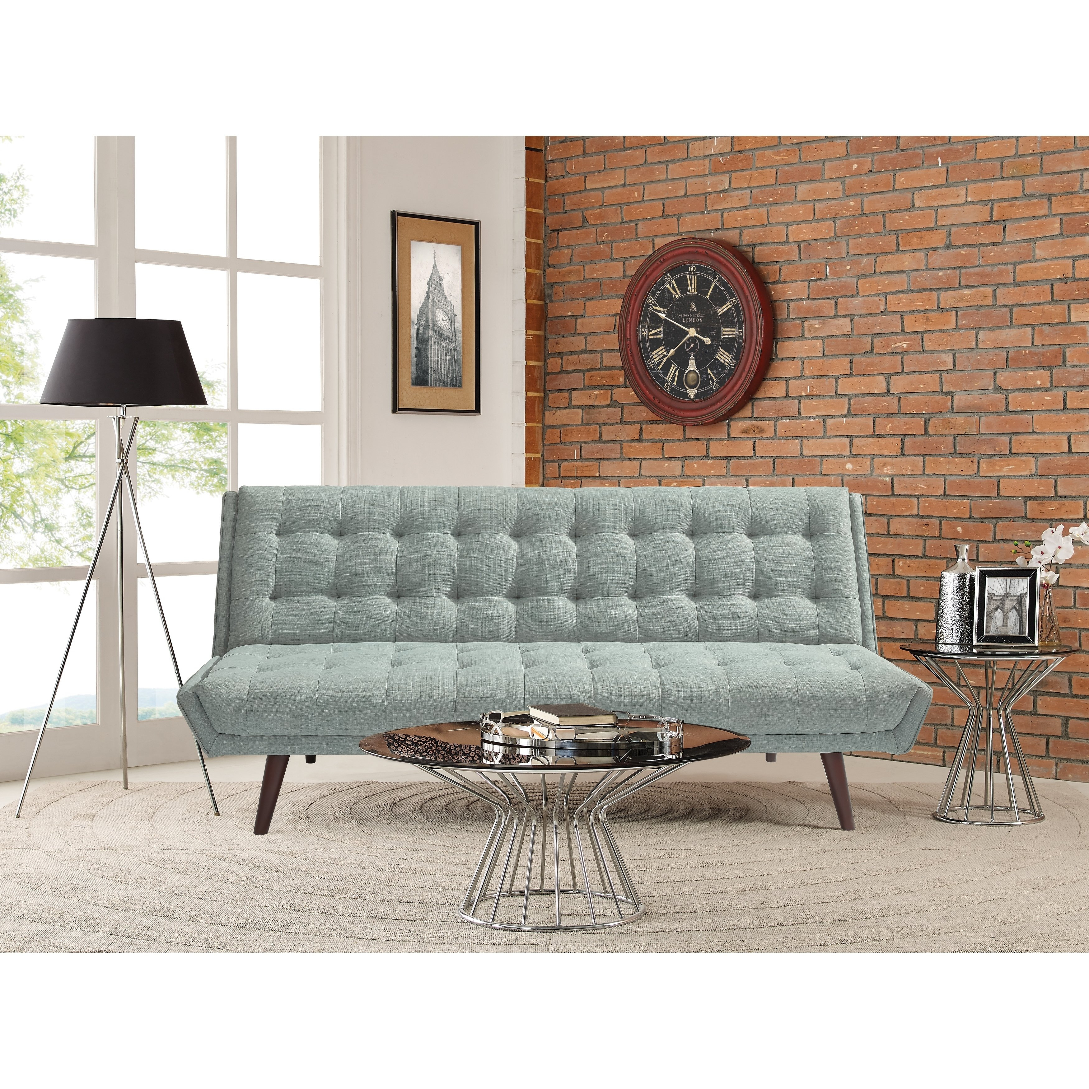Shop Relax A Lounger Landry Convertible Sofa – Free Shipping Today For Landry Sofa Chairs (Image 20 of 20)