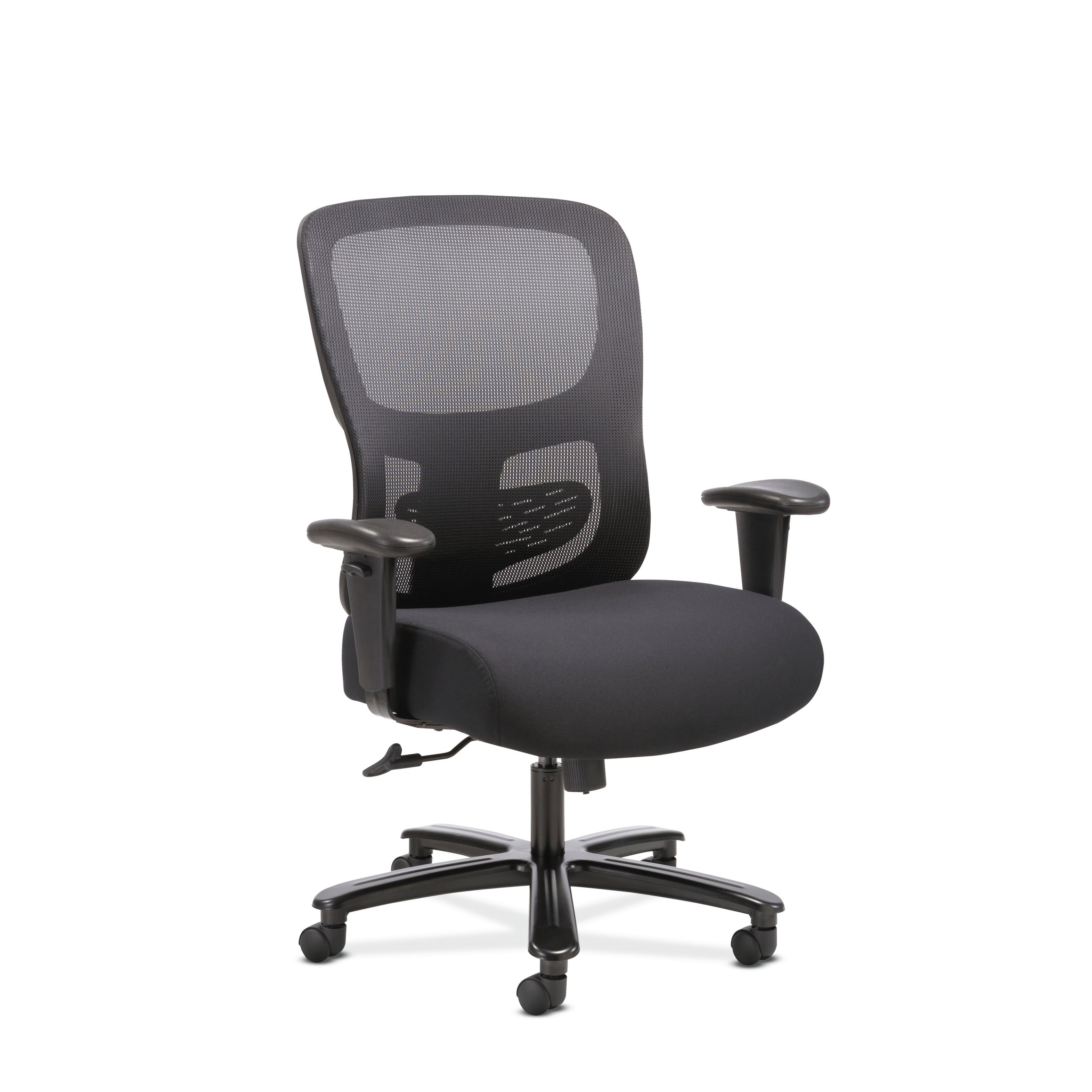 Shop Sadie Big And Tall Black Office Computer Chair – Free Shipping Intended For Sadie Ii Swivel Accent Chairs (View 18 of 20)