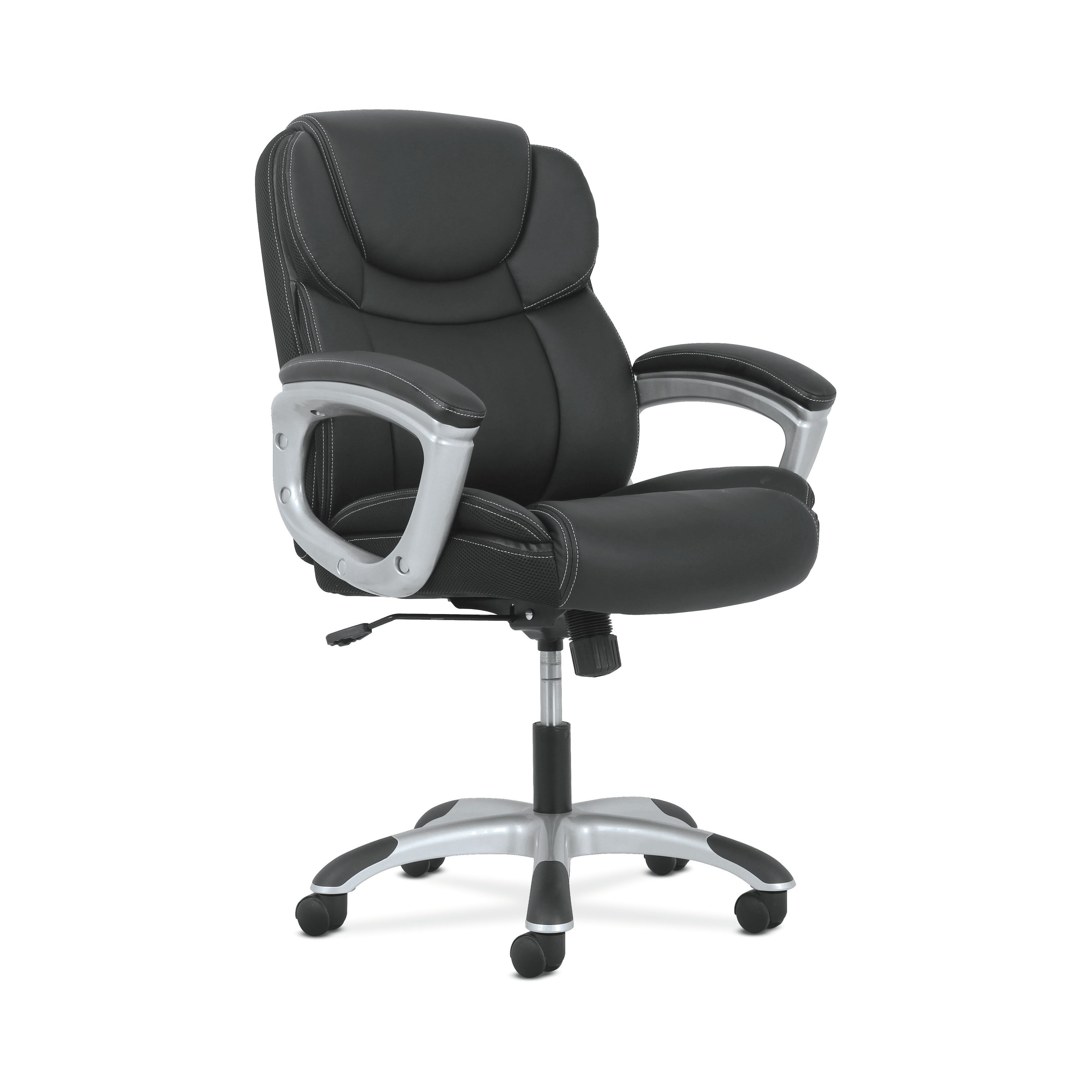 Shop Sadie Leather Executive Computer/office Chair With Arms With Sadie Ii Swivel Accent Chairs (View 20 of 20)