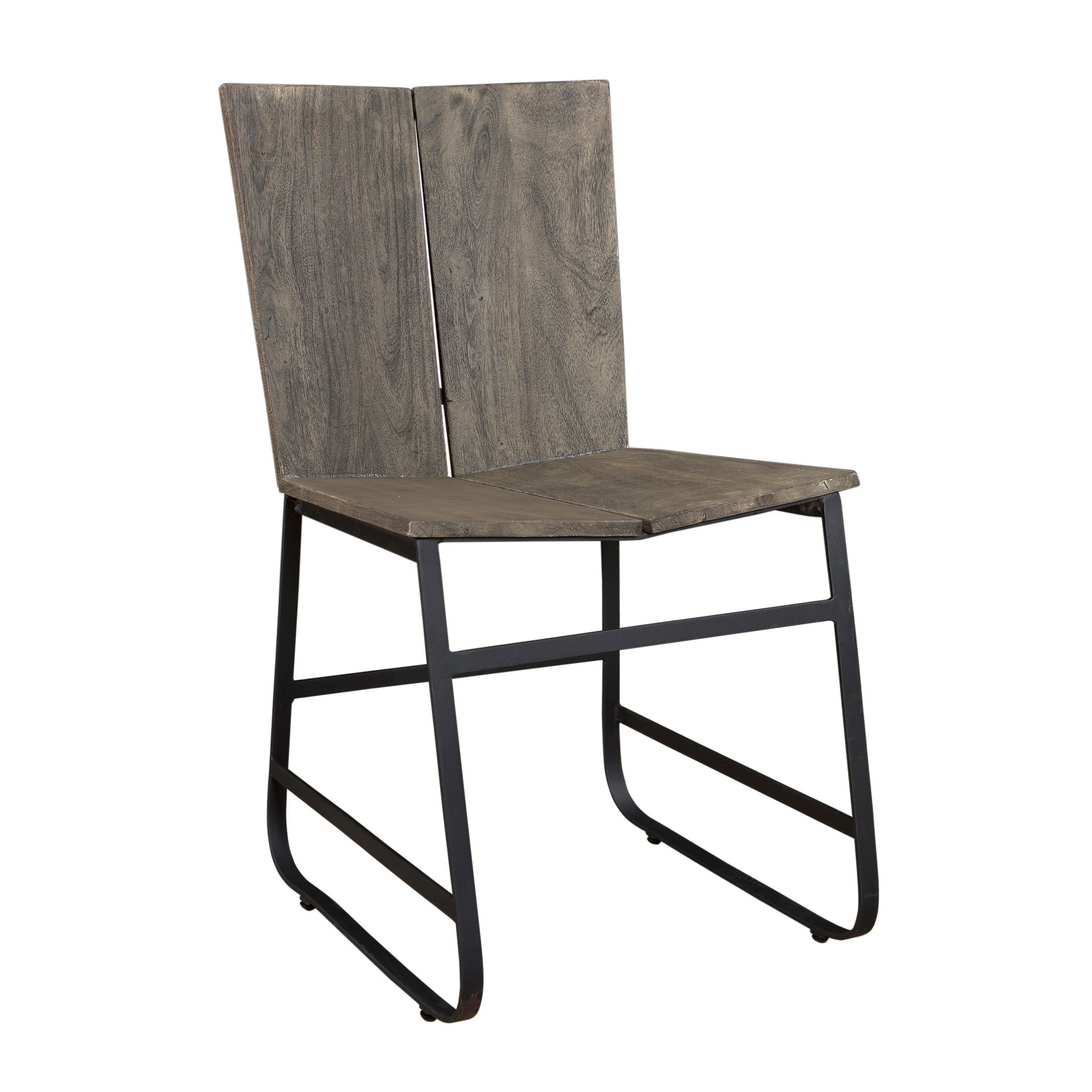 Shop Treasure Trove Tundra Smokey Grey Dining Chairs (Set Of 2 Within Loft Smokey Swivel Accent Chairs (Image 20 of 20)