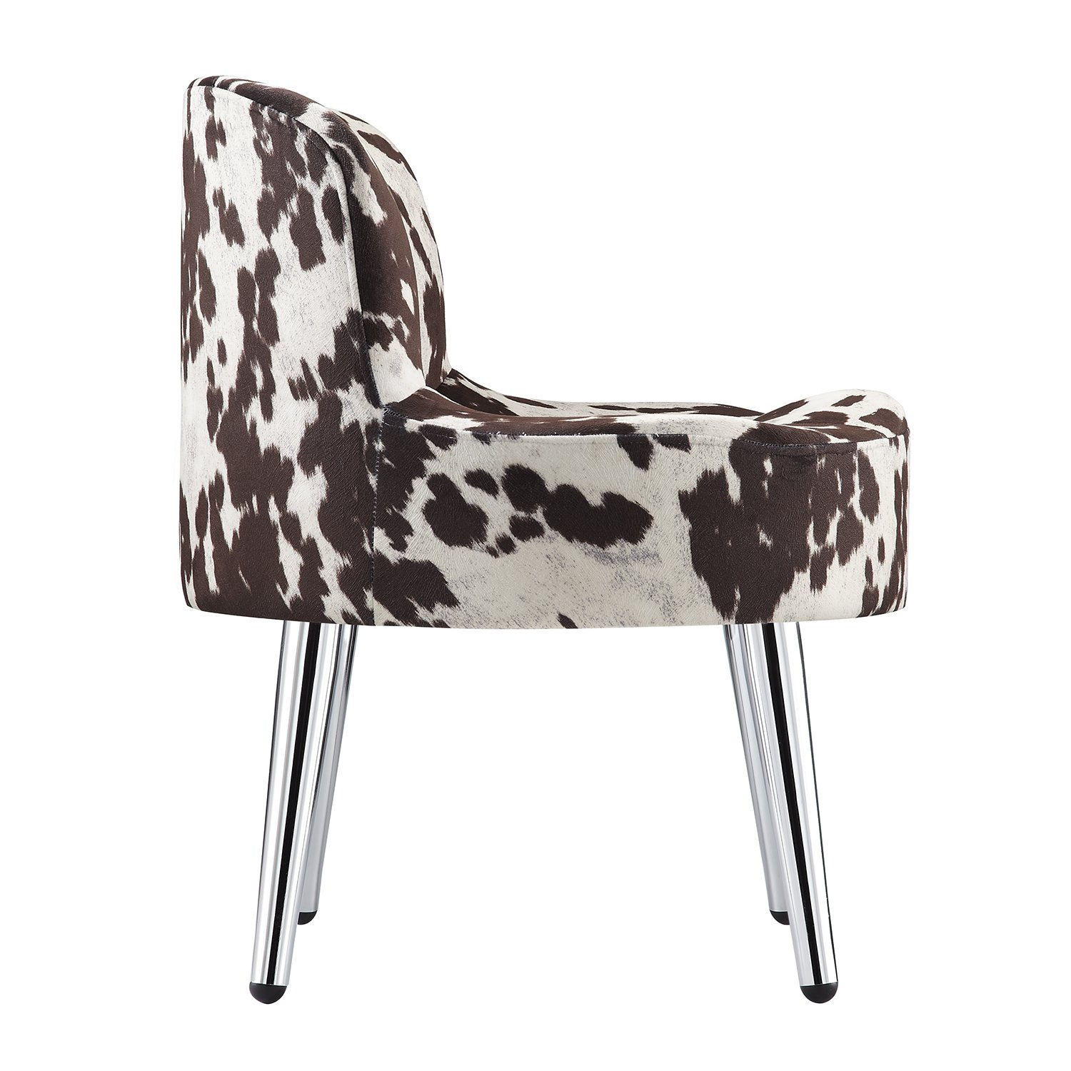 Shop Tribecca Home Bridgeport Ergonomic Contour Cowhide Fabric With Regard To Circuit Swivel Accent Chairs (Image 17 of 20)