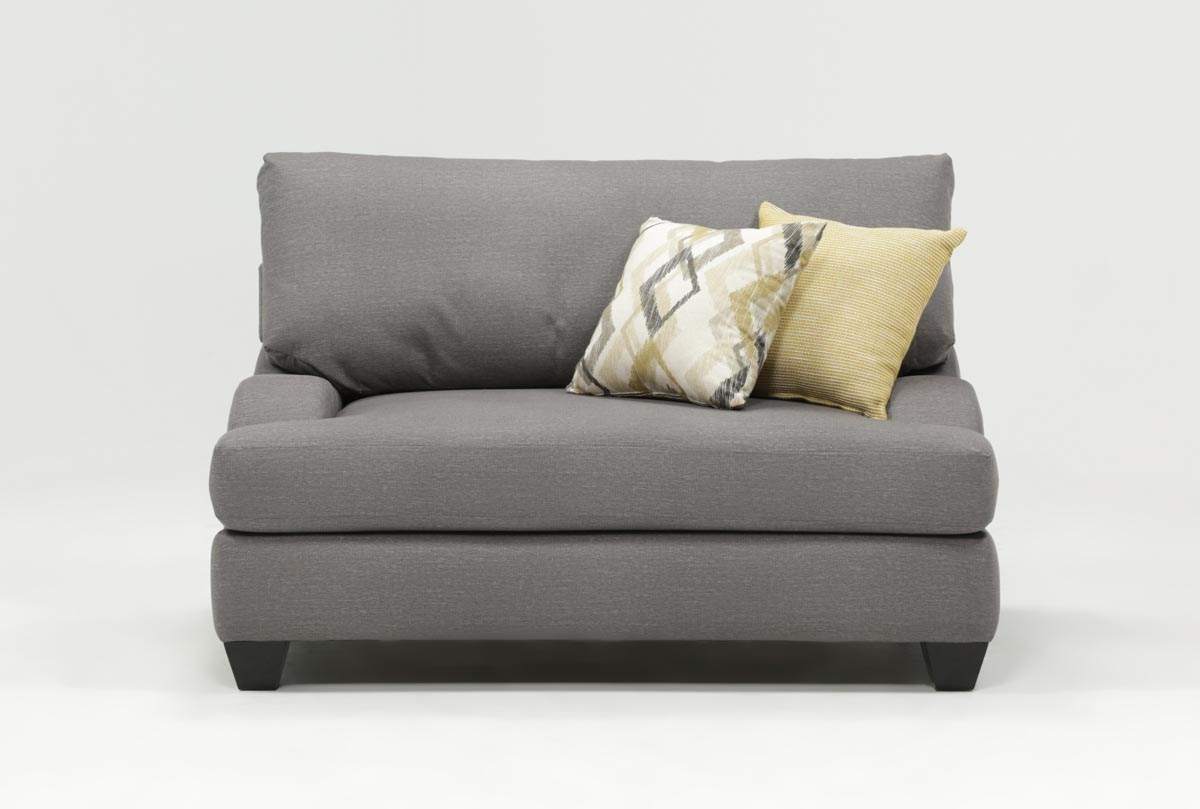 Sierra Foam Oversized Chair | Living Spaces Within Sierra Foam Ii Oversized Sofa Chairs (Image 18 of 20)