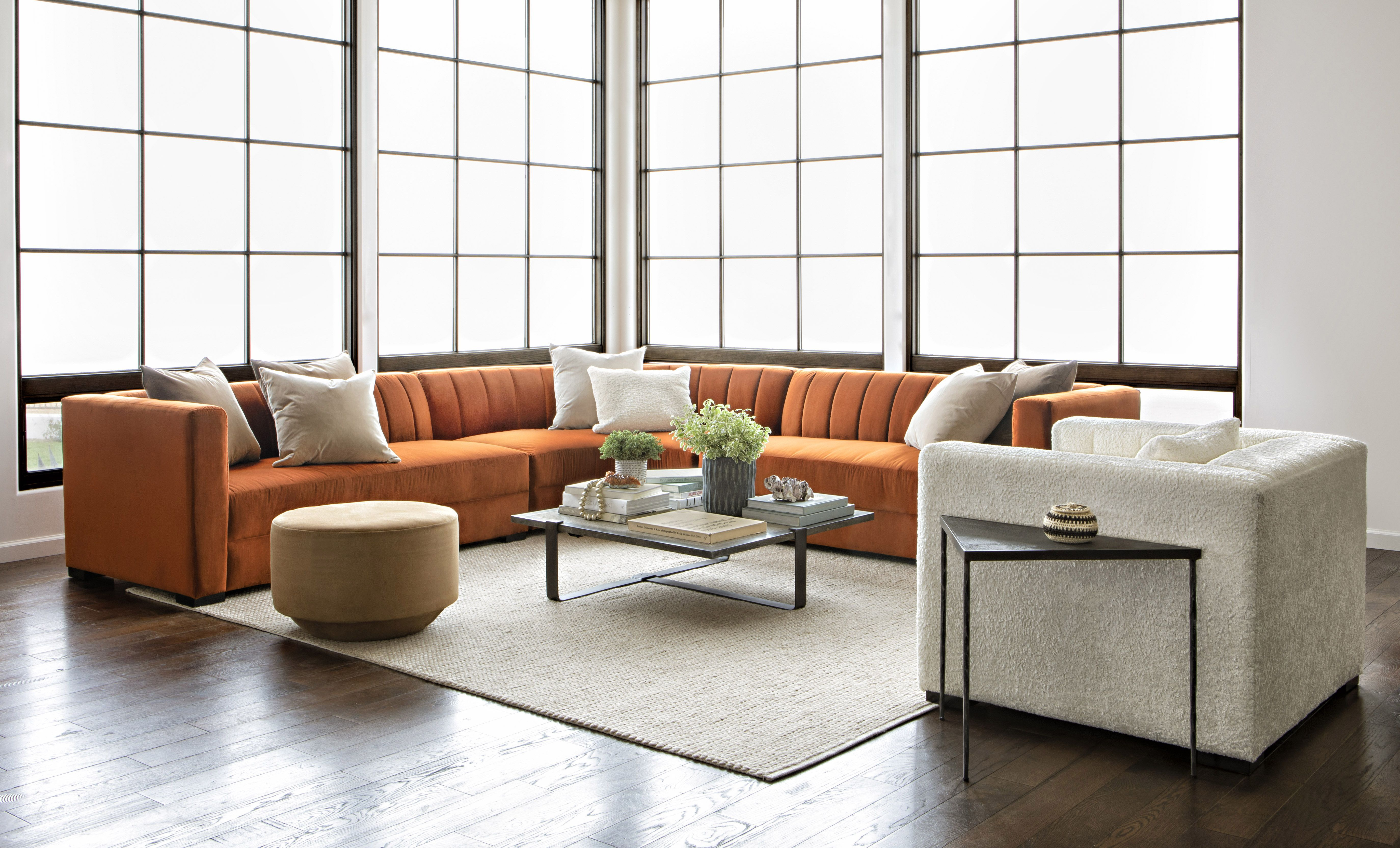 Soane 3 Piece Sectionalnate Berkus And Jeremiah Brent | Nate + With Regard To Matteo Arm Sofa Chairs By Nate Berkus And Jeremiah Brent (Image 19 of 20)