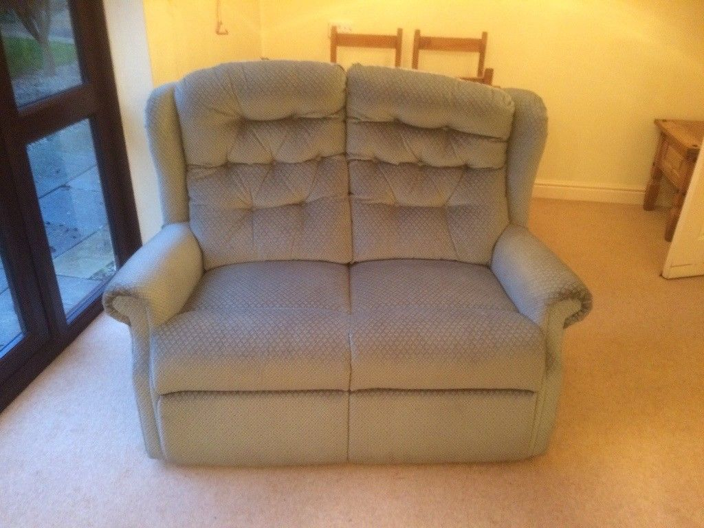 Sofa And Arm Chair | In Kingsteignton, Devon | Gumtree Inside Devon Ii Arm Sofa Chairs (Image 18 of 20)