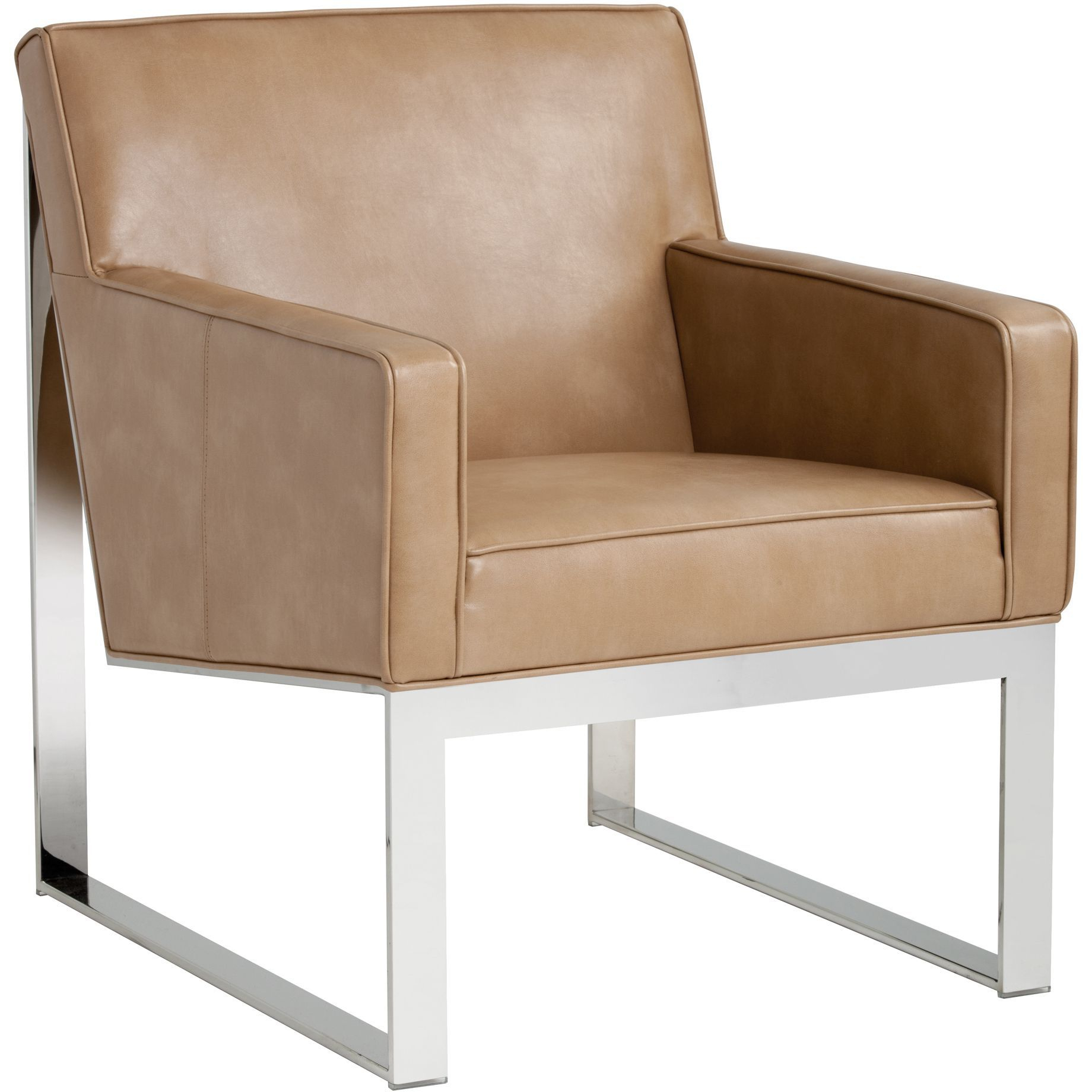 Sunpan 'club' Sheldon Leather Armchair | Products | Pinterest In Sheldon Oversized Sofa Chairs (Image 20 of 20)