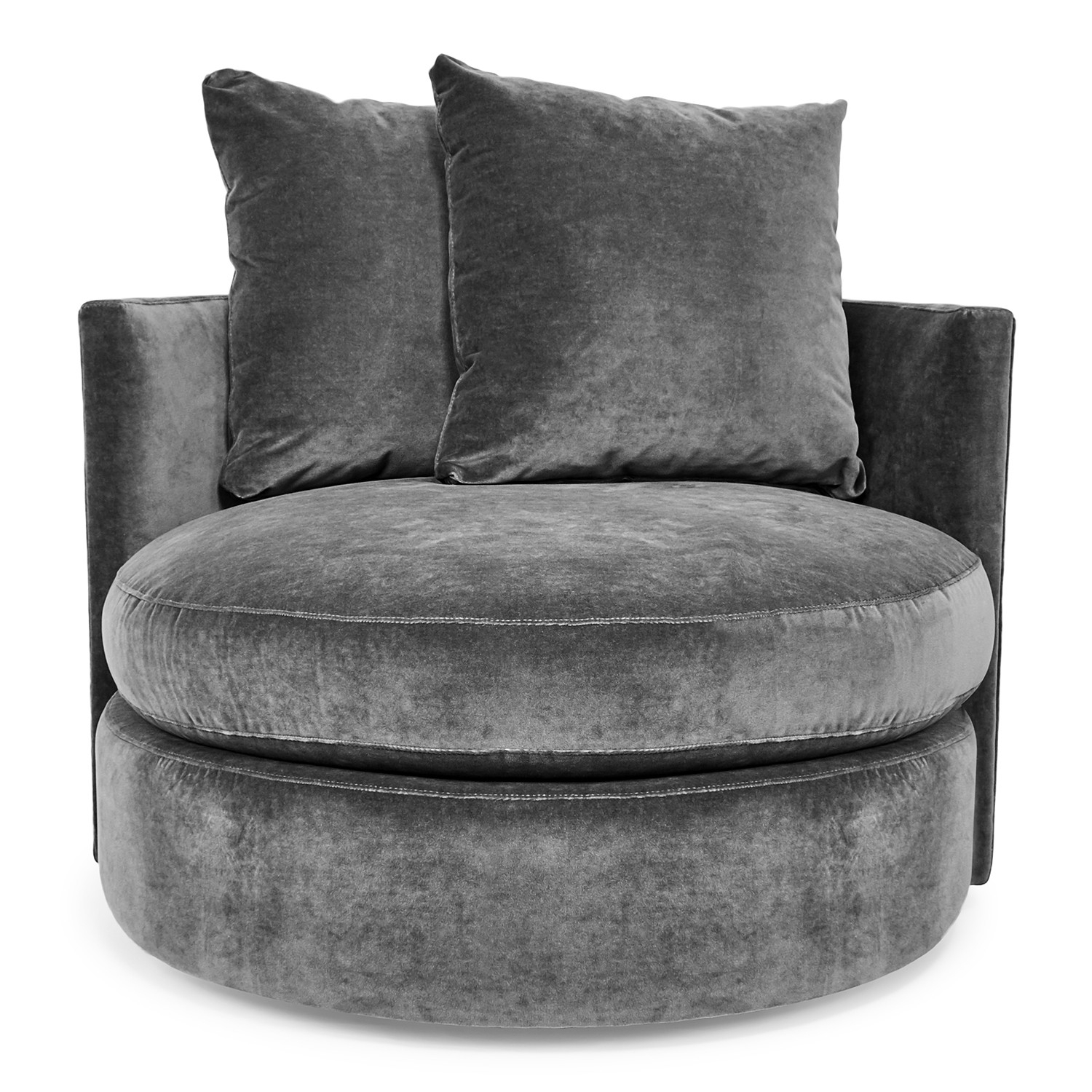 Swivel Accent Chairs At Abc Home & Carpet Within Umber Grey Swivel Accent Chairs (Image 20 of 20)