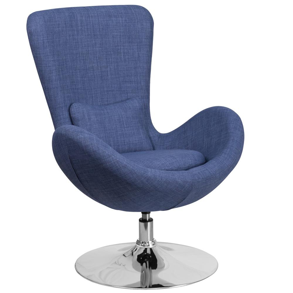 Swivel – Accent Chairs – Chairs – The Home Depot With Regard To Katrina Blue Swivel Glider Chairs (Image 19 of 20)