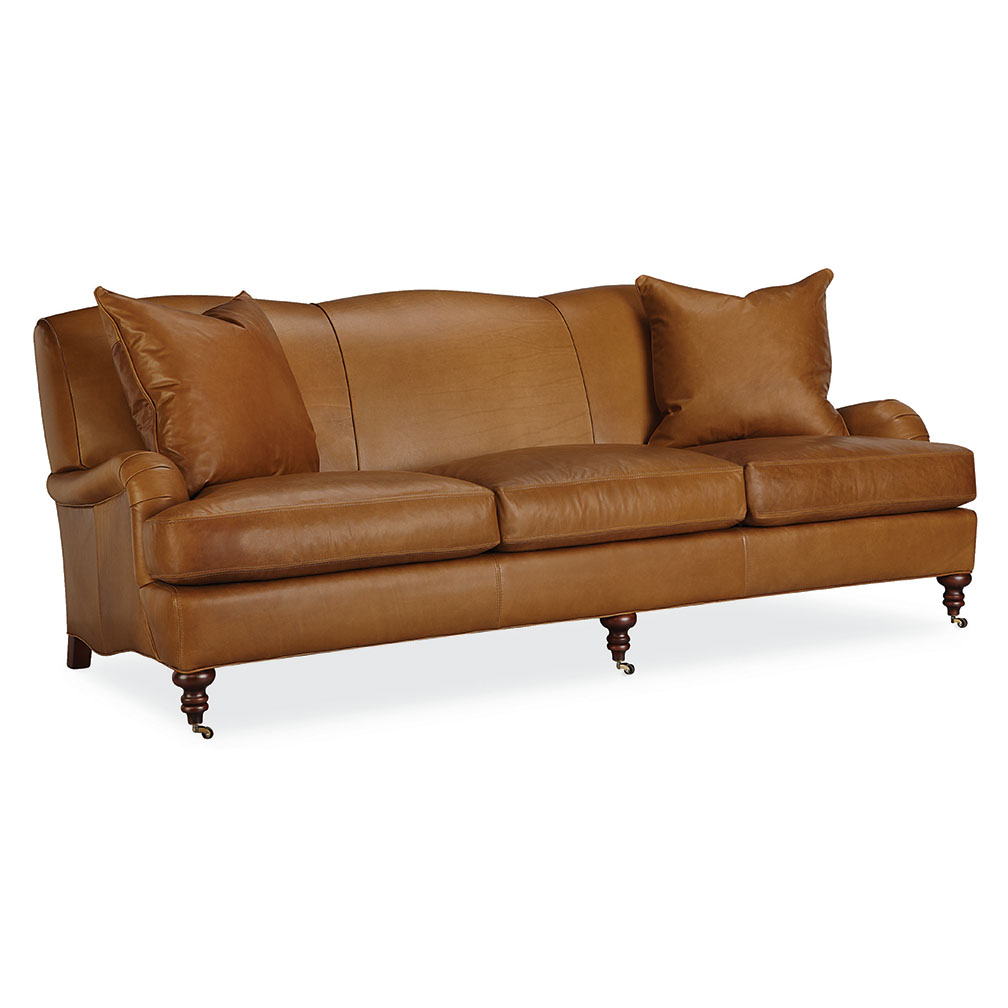 Tate Leather Sofa – Luxe Home Company Regarding Tate Arm Sofa Chairs (Photo 15 of 20)