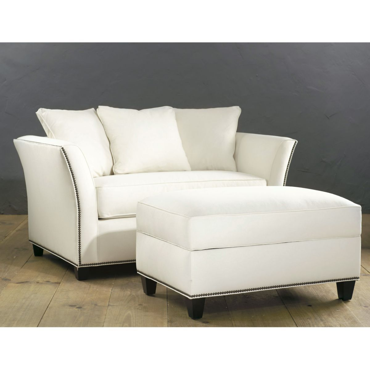 Tate Twin Sleeper With Storage Ottoman In Chippendale Gray | For The Pertaining To Tate Ii Sofa Chairs (View 6 of 20)