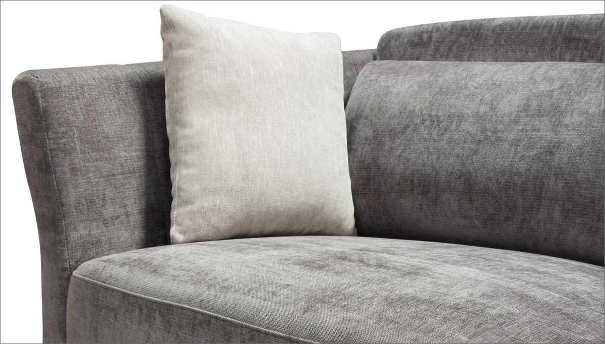 The Lucy Sofa | Haiku Designs Within Lucy Grey Sofa Chairs (Image 20 of 20)