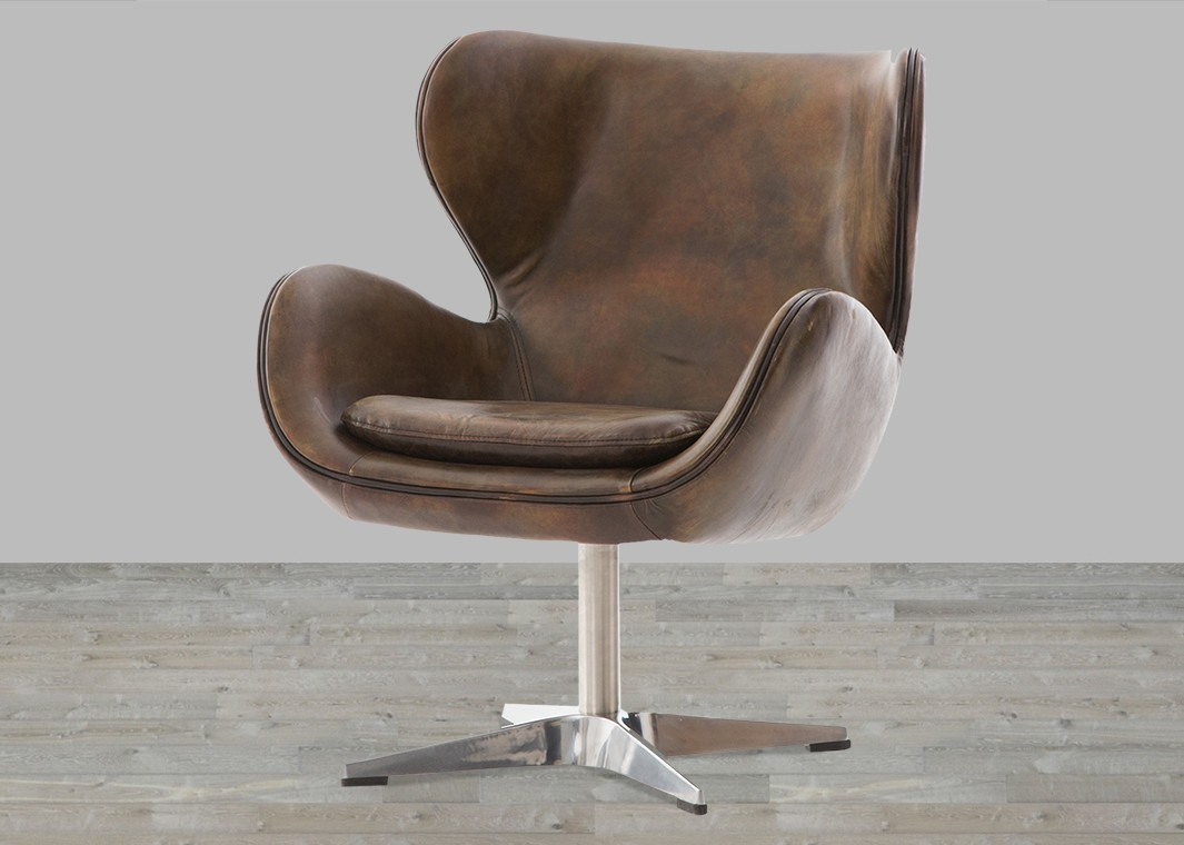 Top Leather Chairs, Leather Chairs Living Room – Silver Coast Company Within Swivel Tobacco Leather Chairs (Image 20 of 20)