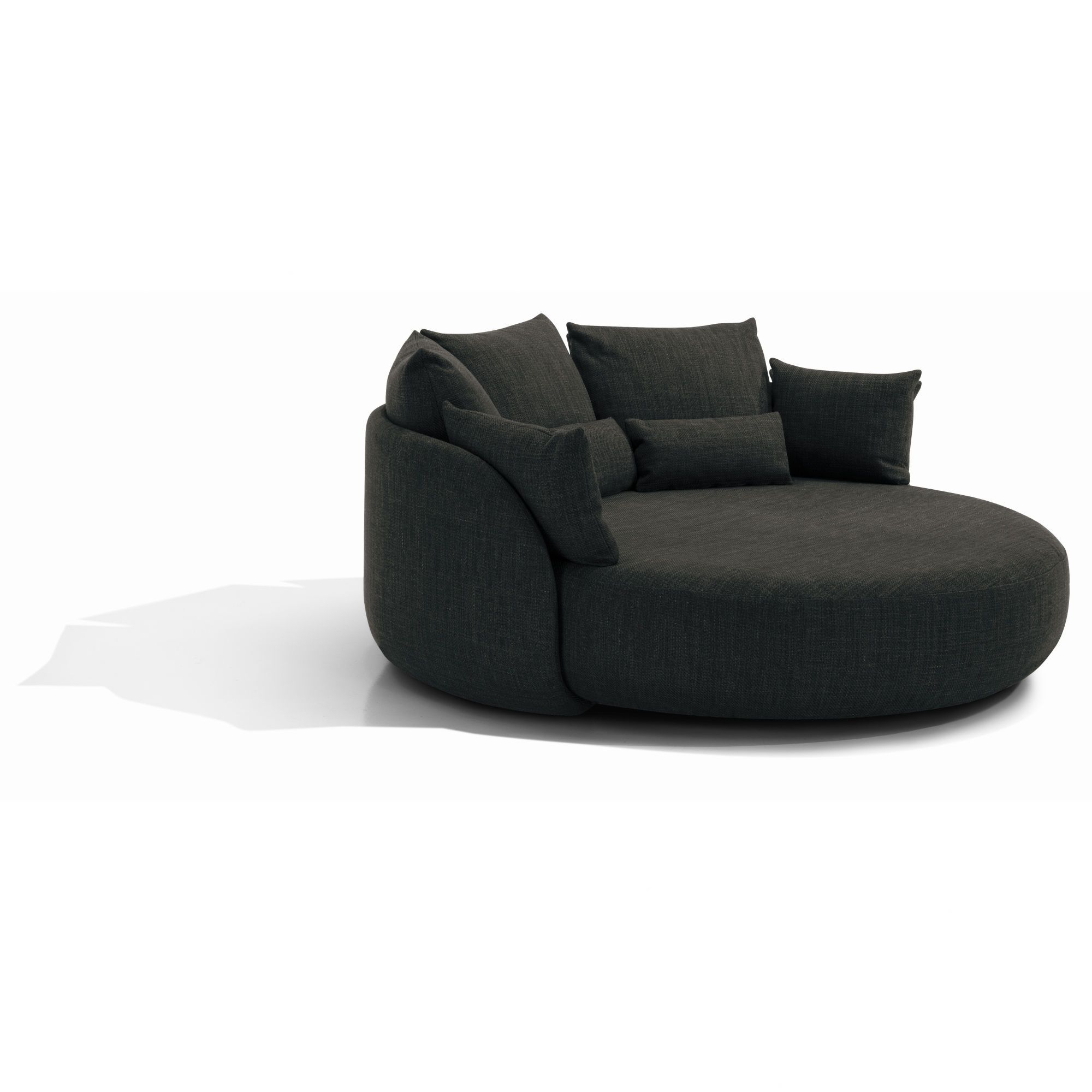 "Totally Impractical Sofa For Our Small Space At 81"" Round – Is It With Regard To Cohen Foam Oversized Sofa Chairs (Photo 9 of 20)"