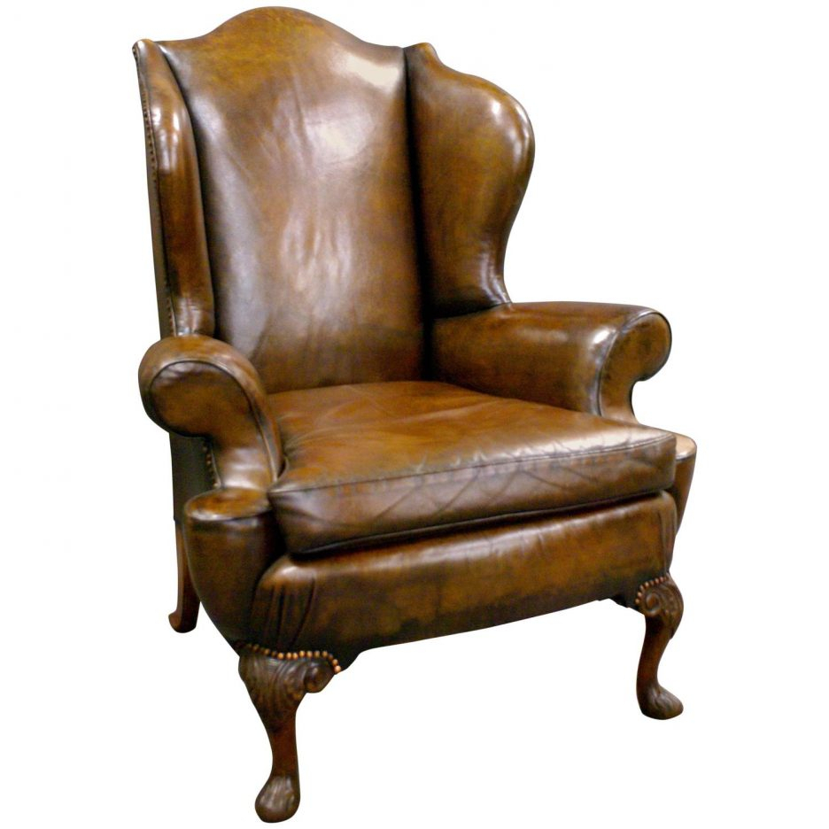 Tufted Leather Chair Winged Armchairs For Sale Upholstered Swivel With Regard To Chocolate Brown Leather Tufted Swivel Chairs (View 8 of 20)