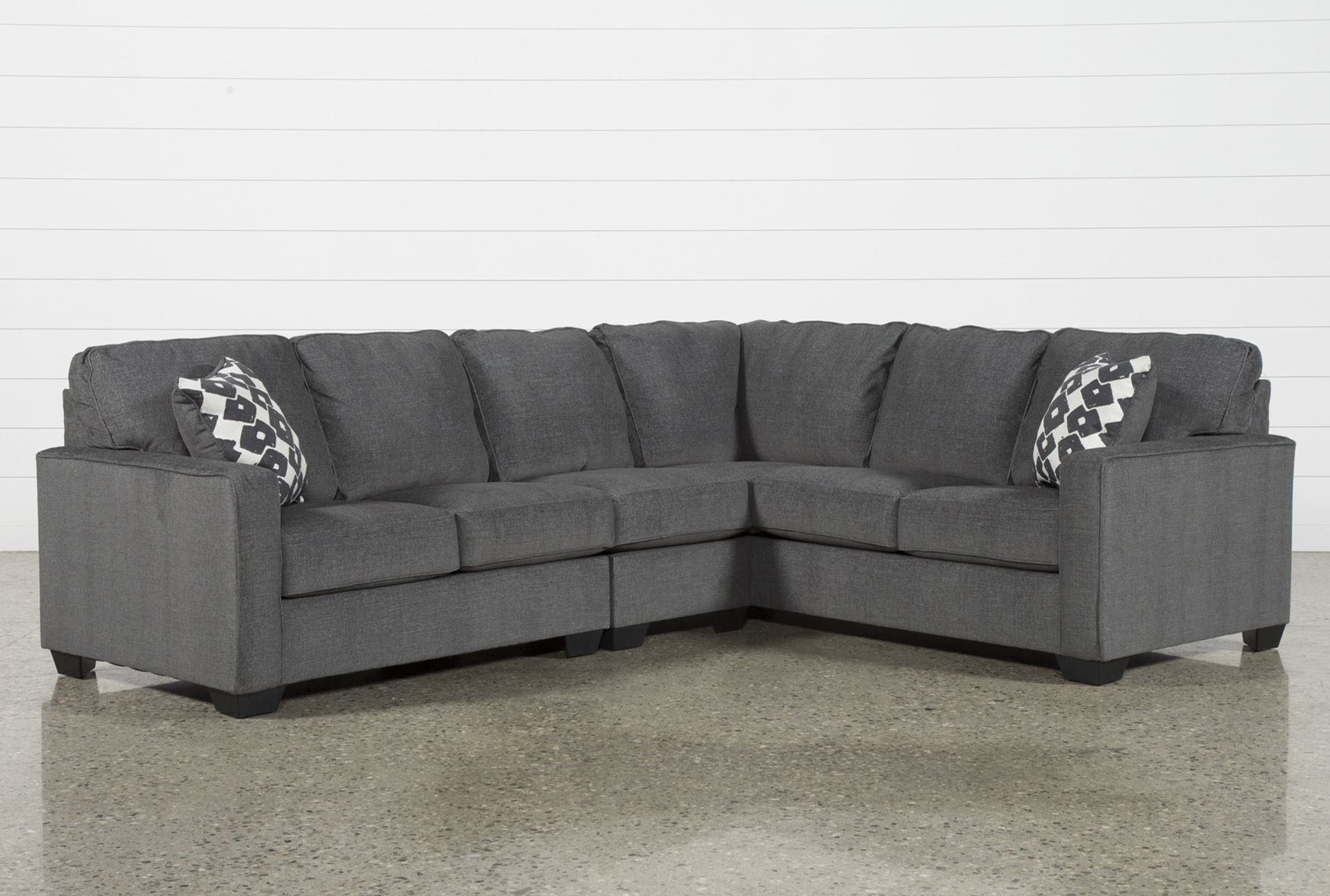 Turdur 3 Piece Sectional W/laf Loveseat In 2018 | Products Throughout Mcdade Graphite Sofa Chairs (Image 19 of 20)