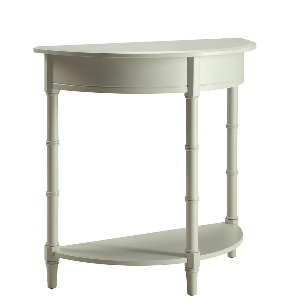 Usl Allie London Grey Console Table Sk18795A Lg – The Home Depot Regarding Allie Dark Grey Sofa Chairs (Image 19 of 20)