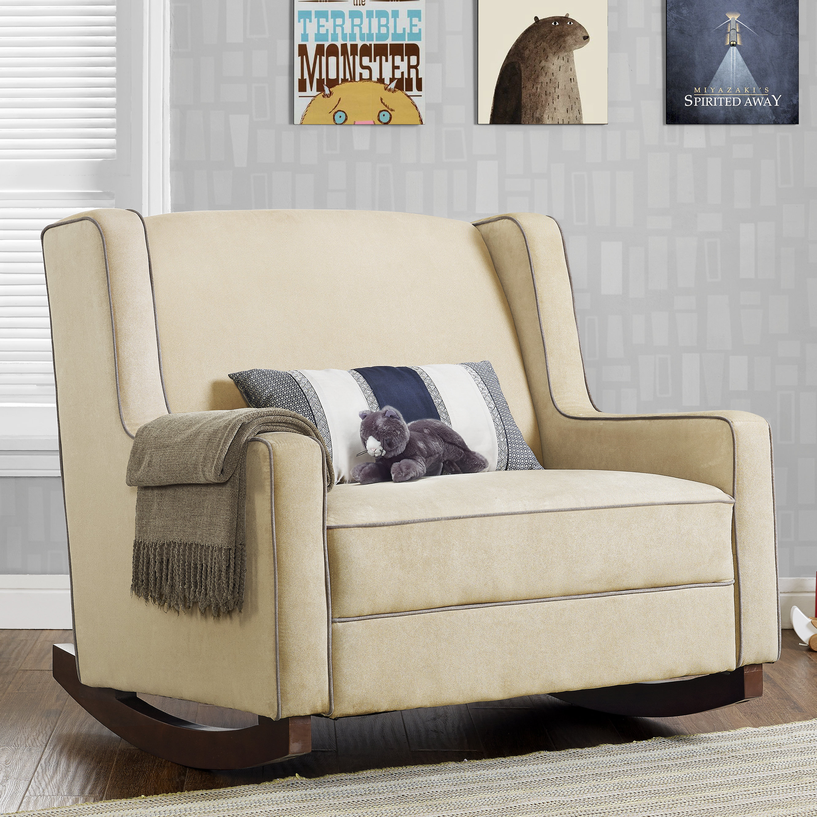 Viv + Rae Mari Rocker | Wayfair For Mari Swivel Glider Recliners (Photo 4 of 20)