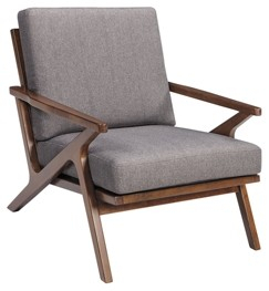 Wavecove – Brown – Accent Chair | A3000032 | Chairs | Furniture Intended For Harbor Grey Swivel Accent Chairs (Image 20 of 20)