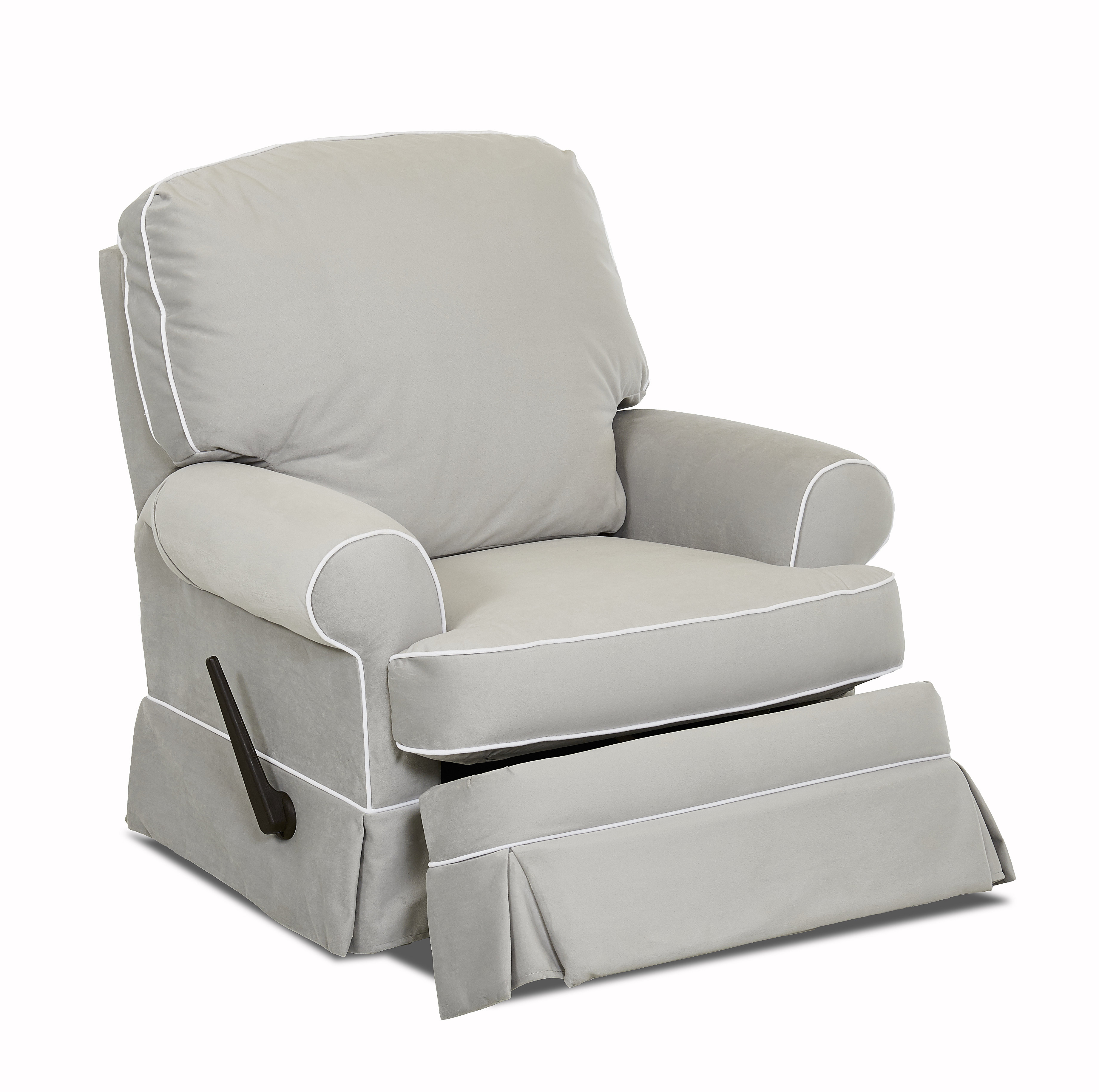 Featured Image of Katrina Grey Swivel Glider Chairs