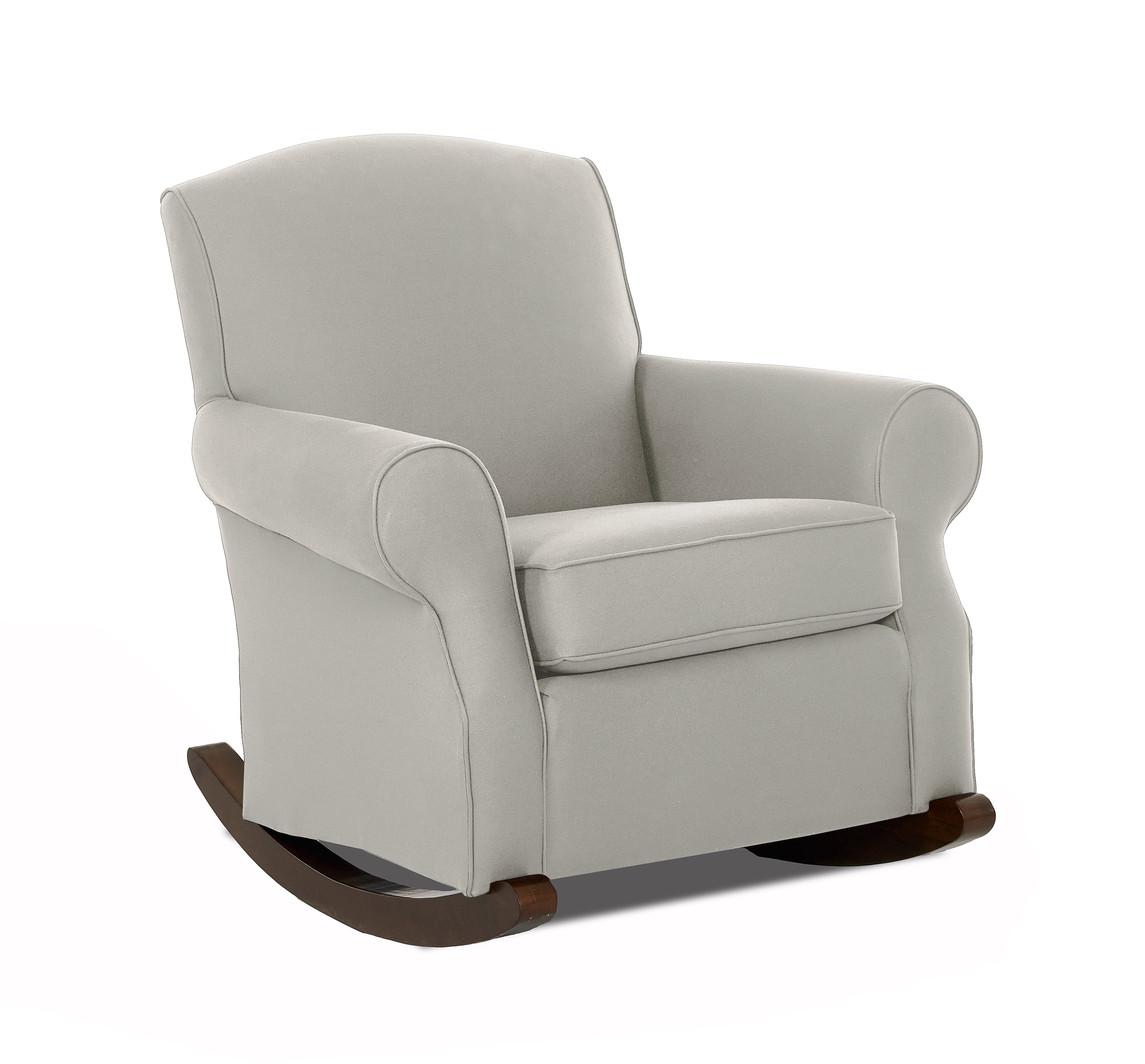Wayfair Custom Upholstery™ Marlowe Rocking Chair | Wayfair Within Katrina Grey Swivel Glider Chairs (Image 19 of 20)