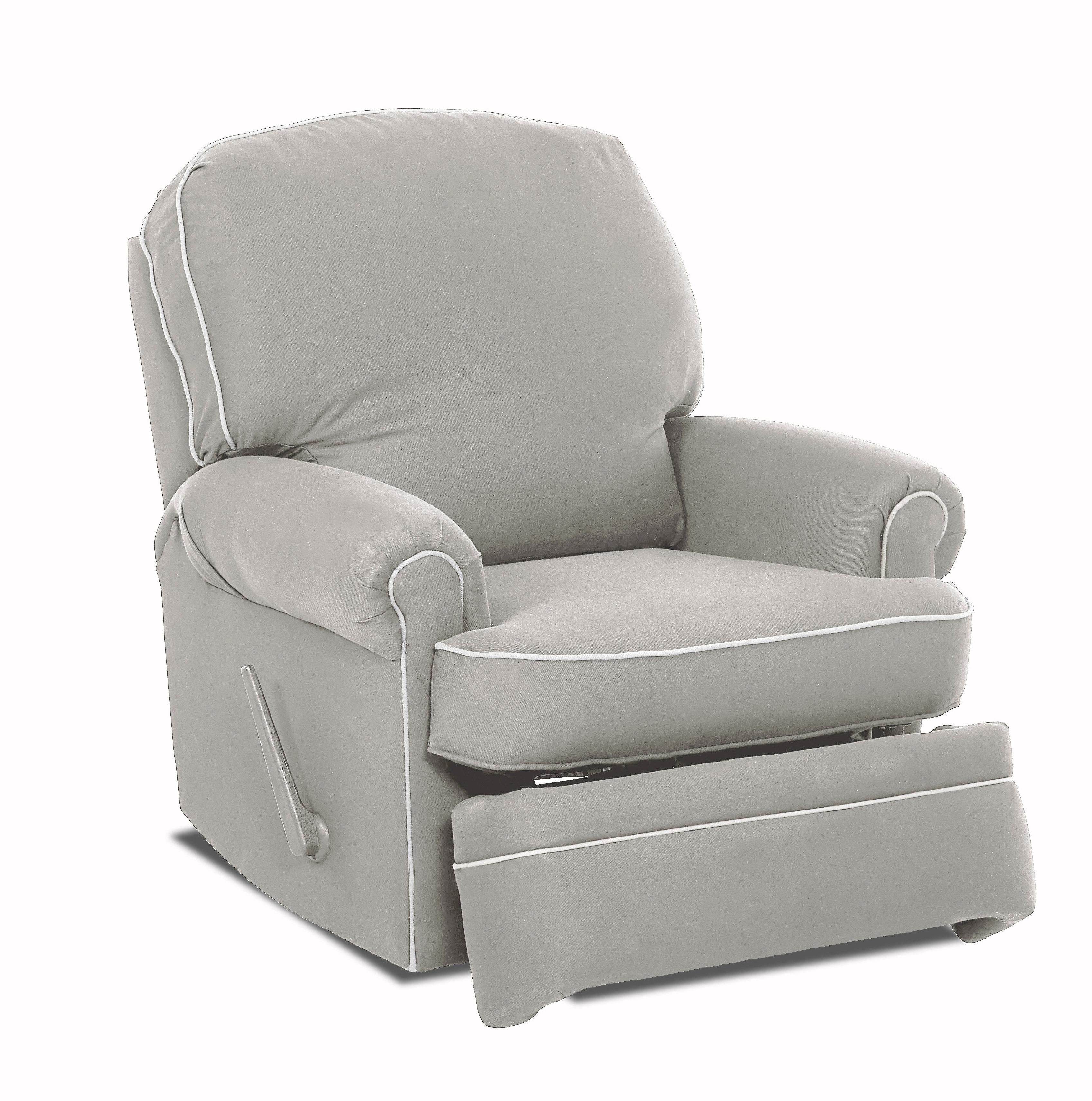 Wayfair Custom Upholstery™ Stanford Glider Swivel Recliner | Wayfair Regarding Katrina Blue Swivel Glider Chairs (View 2 of 20)