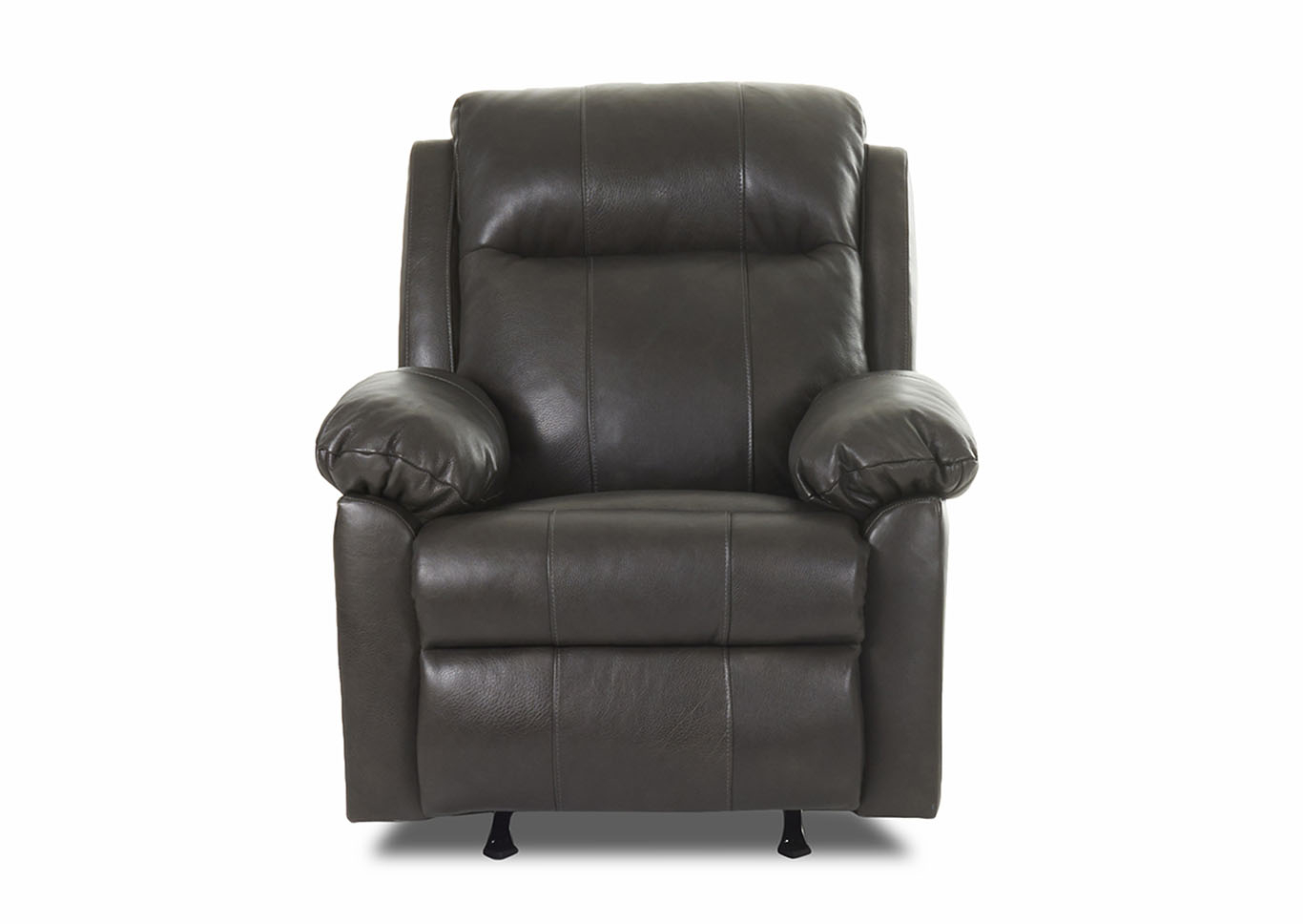 Weiss Furniture Amari Reclining Rocking Leather & Vinyl Chair Pertaining To Amari Swivel Accent Chairs (View 18 of 20)