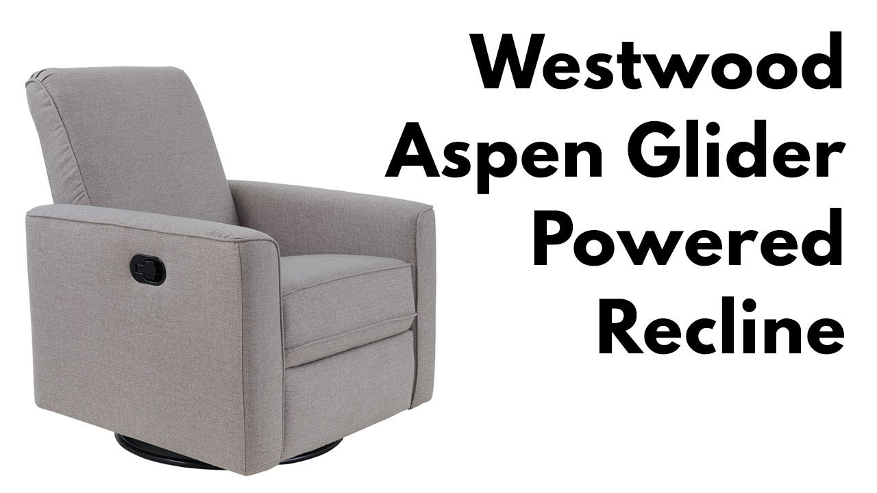 Westwood Aspen Swivel And Power Reclining Glider – Youtube Regarding Aspen Swivel Chairs (Image 19 of 20)