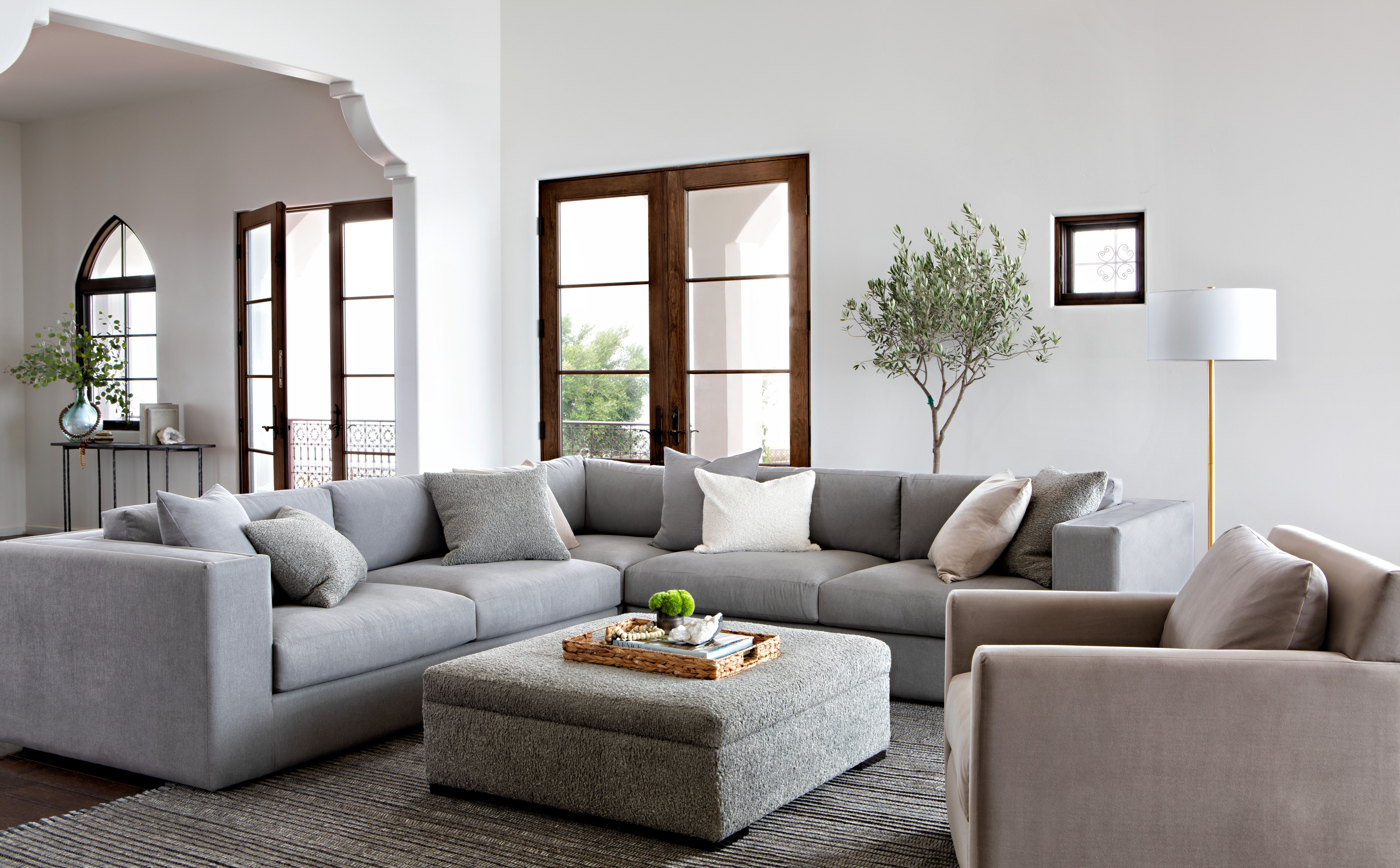 Whitley 3 Piece Sectionalnate Berkus And Jeremiah Brent | Nate + In Liv Arm Sofa Chairs By Nate Berkus And Jeremiah Brent (Image 20 of 20)