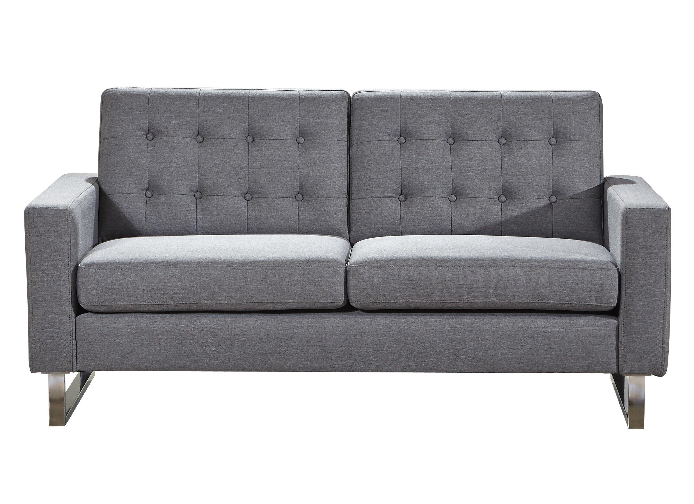 Wrought Studio Gwen Loveseat | Wayfair For Gwen Sofa Chairs (Image 20 of 20)
