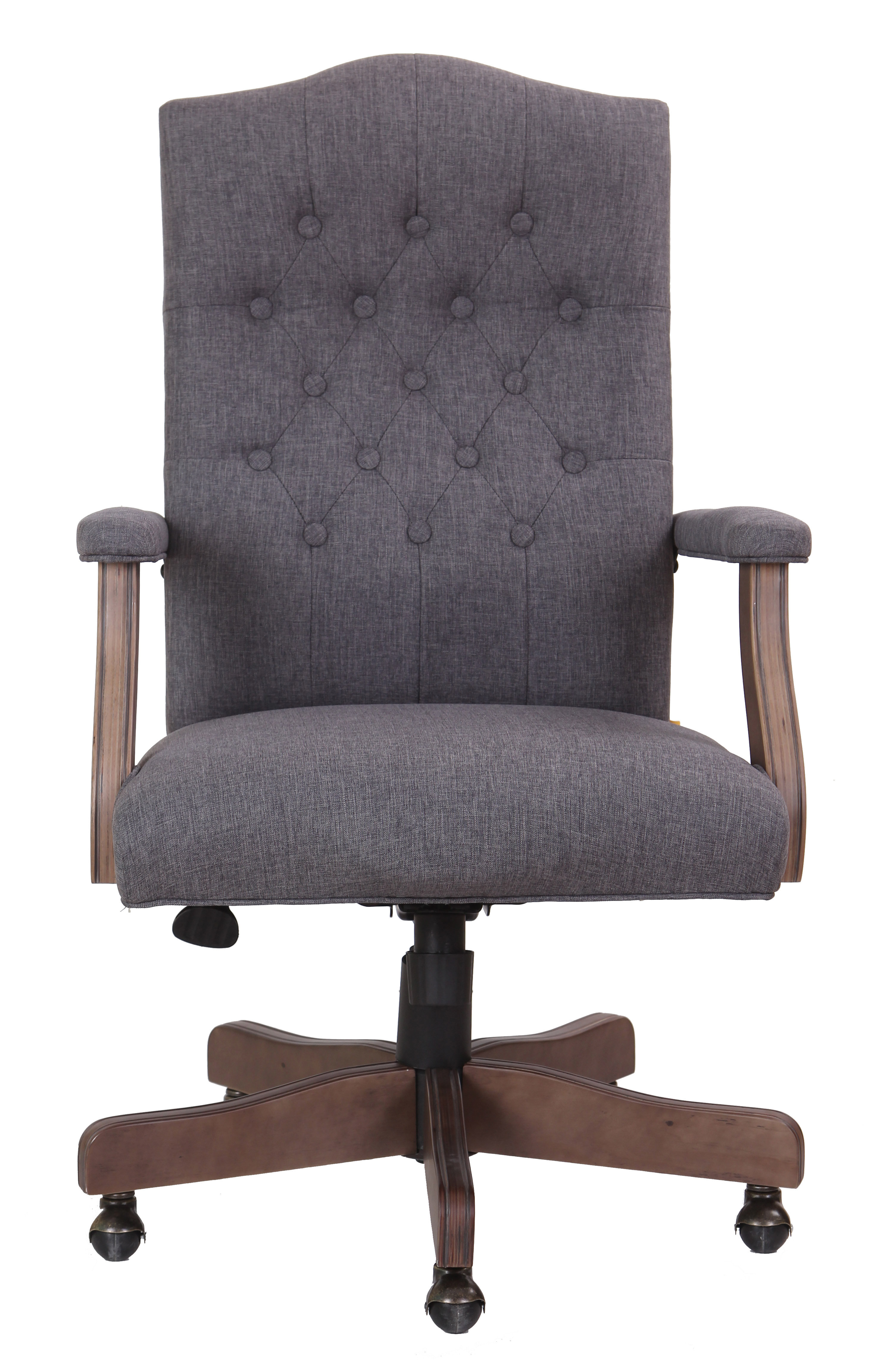 Wurthing High Back Executive Chair & Reviews | Joss & Main Intended For Katrina Grey Swivel Glider Chairs (Image 20 of 20)