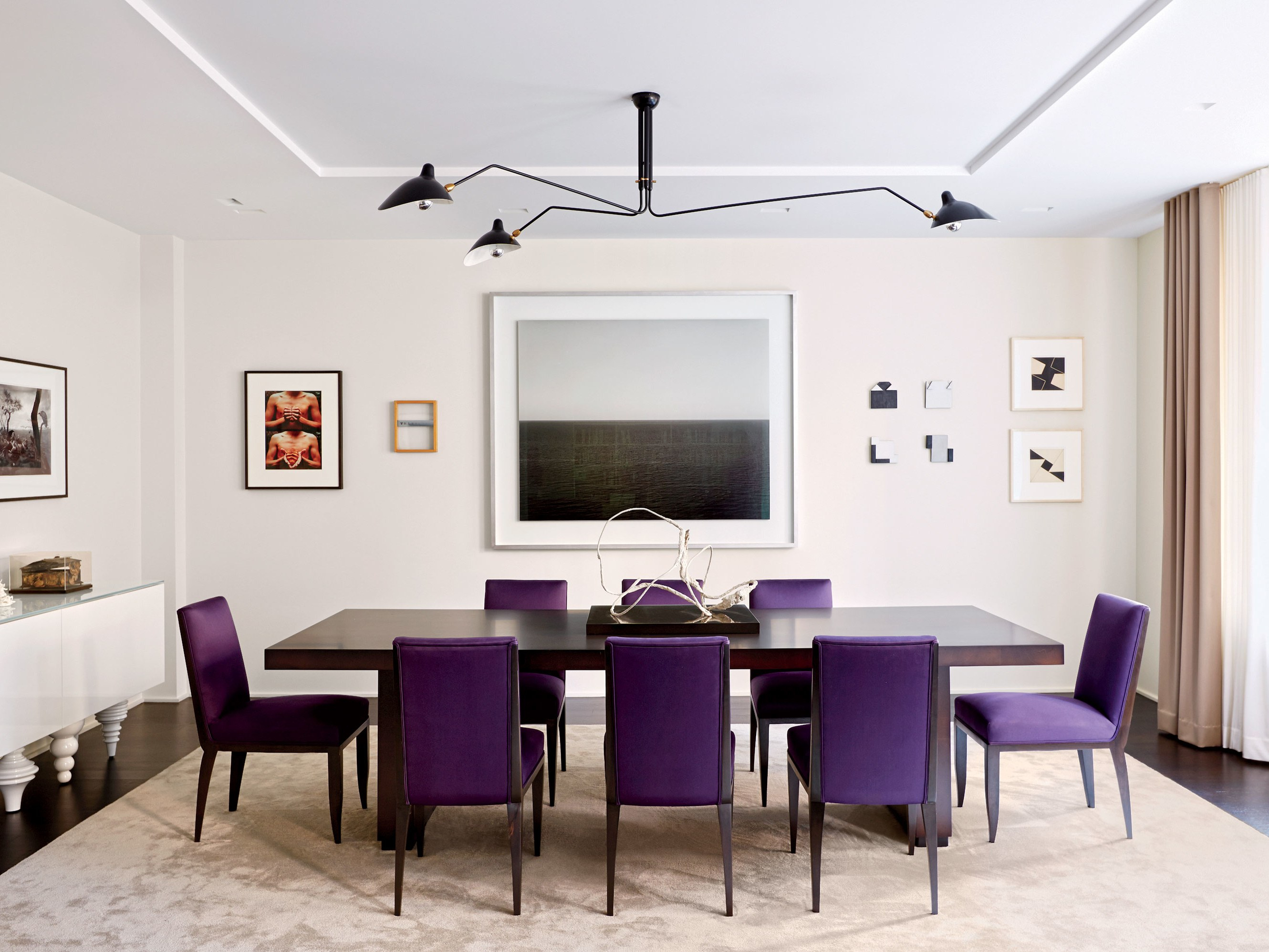11 Large Dining Room Tables Perfect For Entertaining | Architectural Within Best And Newest West Hill Family Table 3 Piece Dining Sets (View 19 of 20)