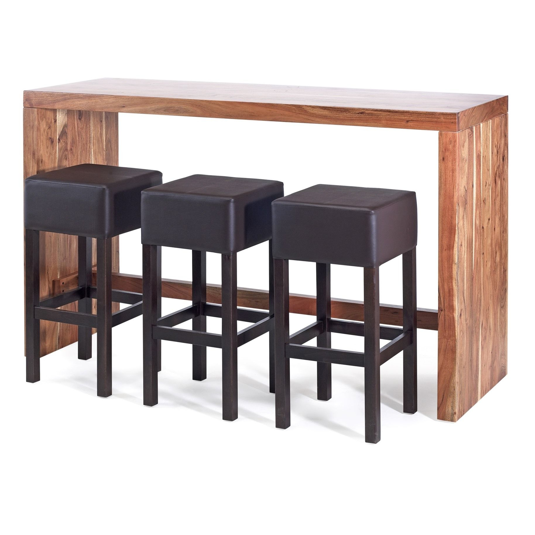 27+ Tantalizing Bar Table Ideas | Cool Tables | Table, Cool Tables, Bar Pertaining To Most Recently Released Denzel 5 Piece Counter Height Breakfast Nook Dining Sets (Image 1 of 20)