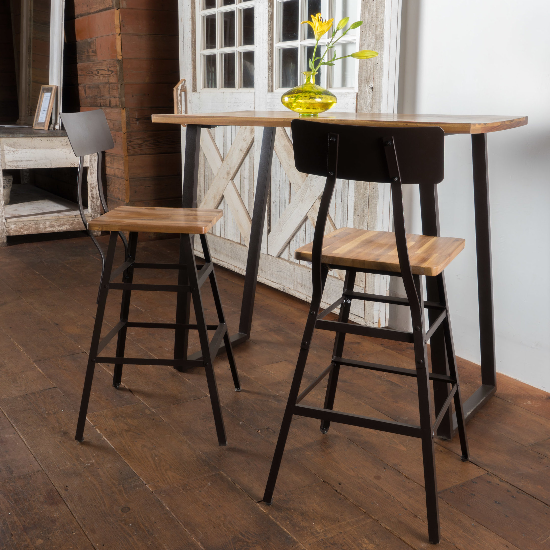 3 Piece Bar Table Set – Frasesdeconquista – In Most Recently Released Crownover 3 Piece Bar Table Sets (Image 1 of 20)