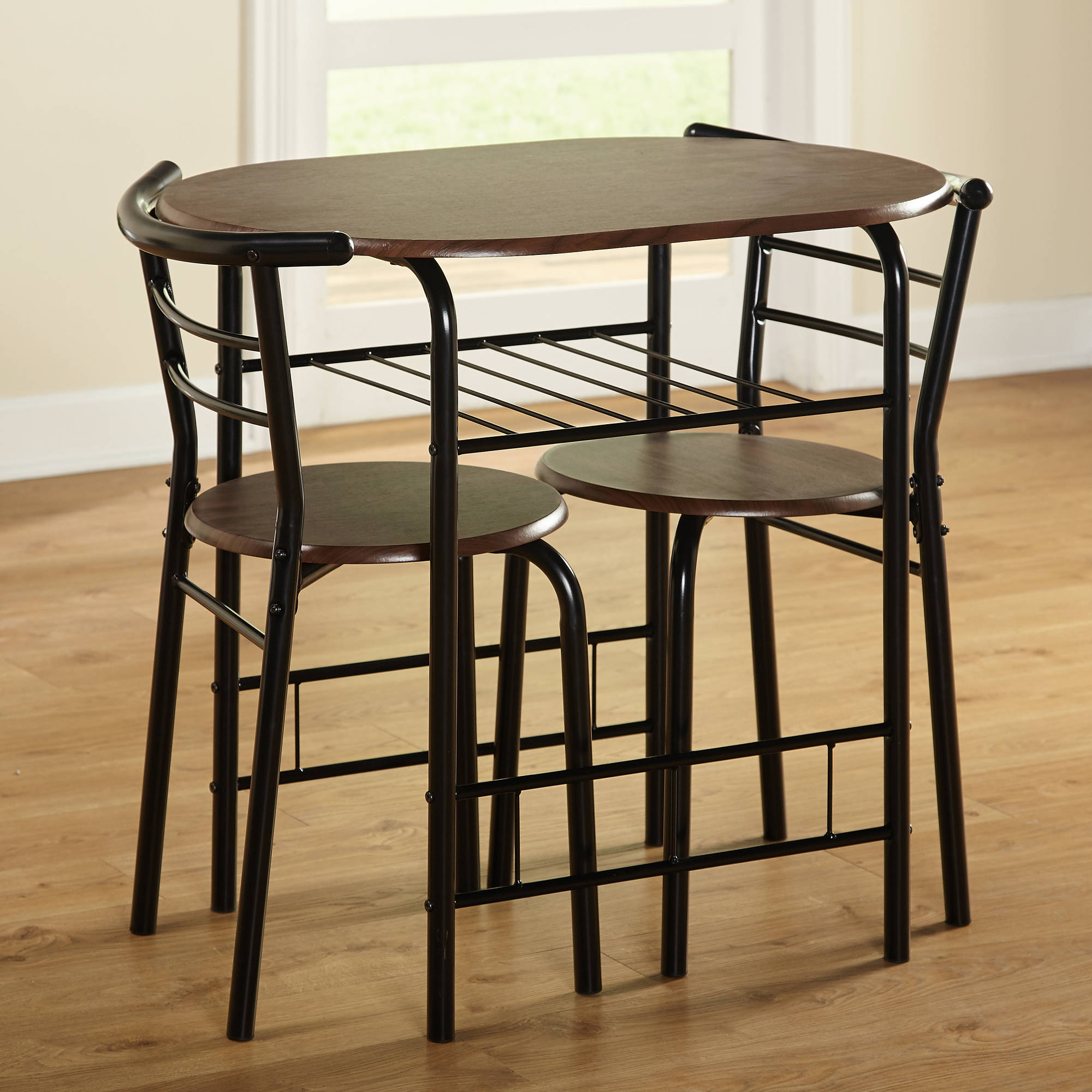 3 Piece Kitchen Table Set & In Best And Newest Tappahannock 3 Piece Counter Height Dining Sets (Image 3 of 20)