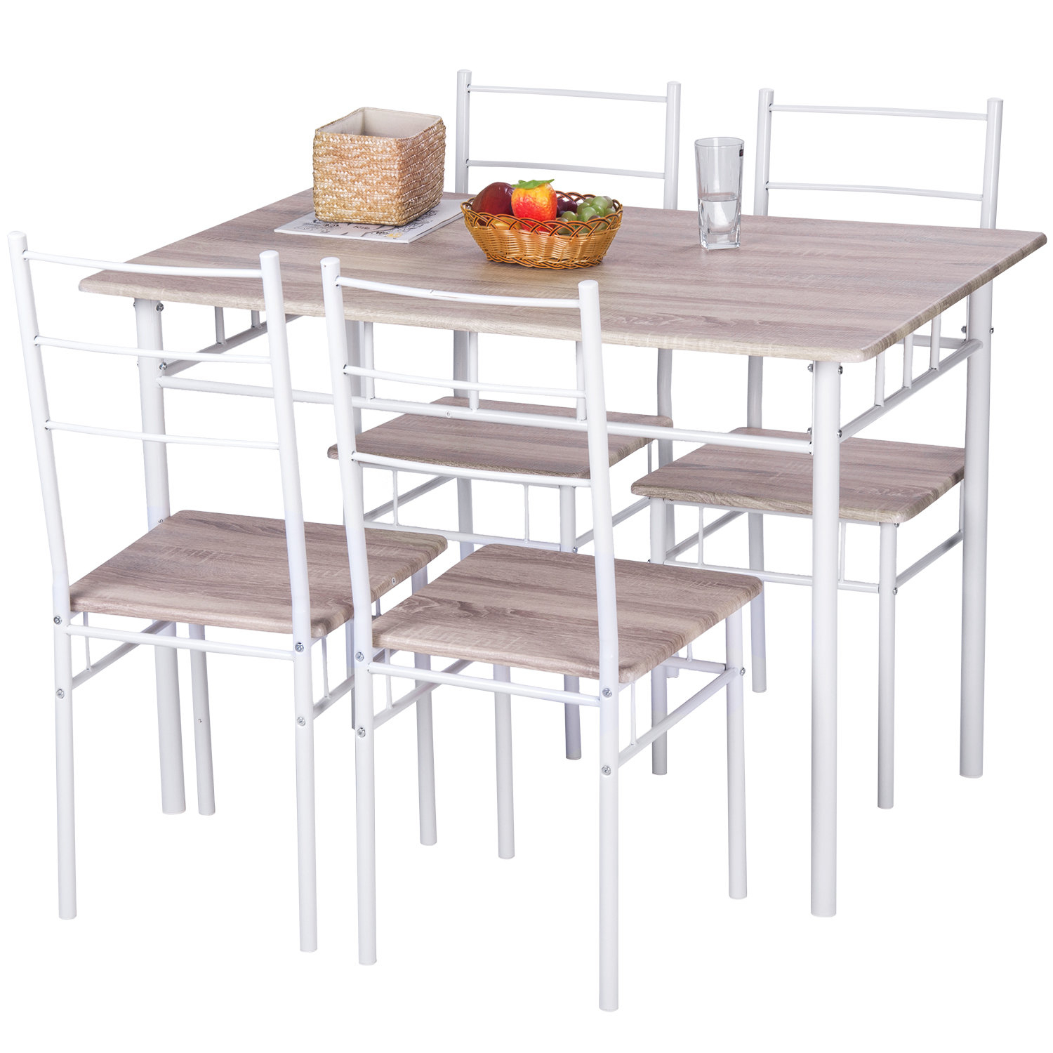 5 Piece Breakfast Nook Dining Set Pertaining To Most Popular Casiano 5 Piece Dining Sets (Photo 11 of 20)