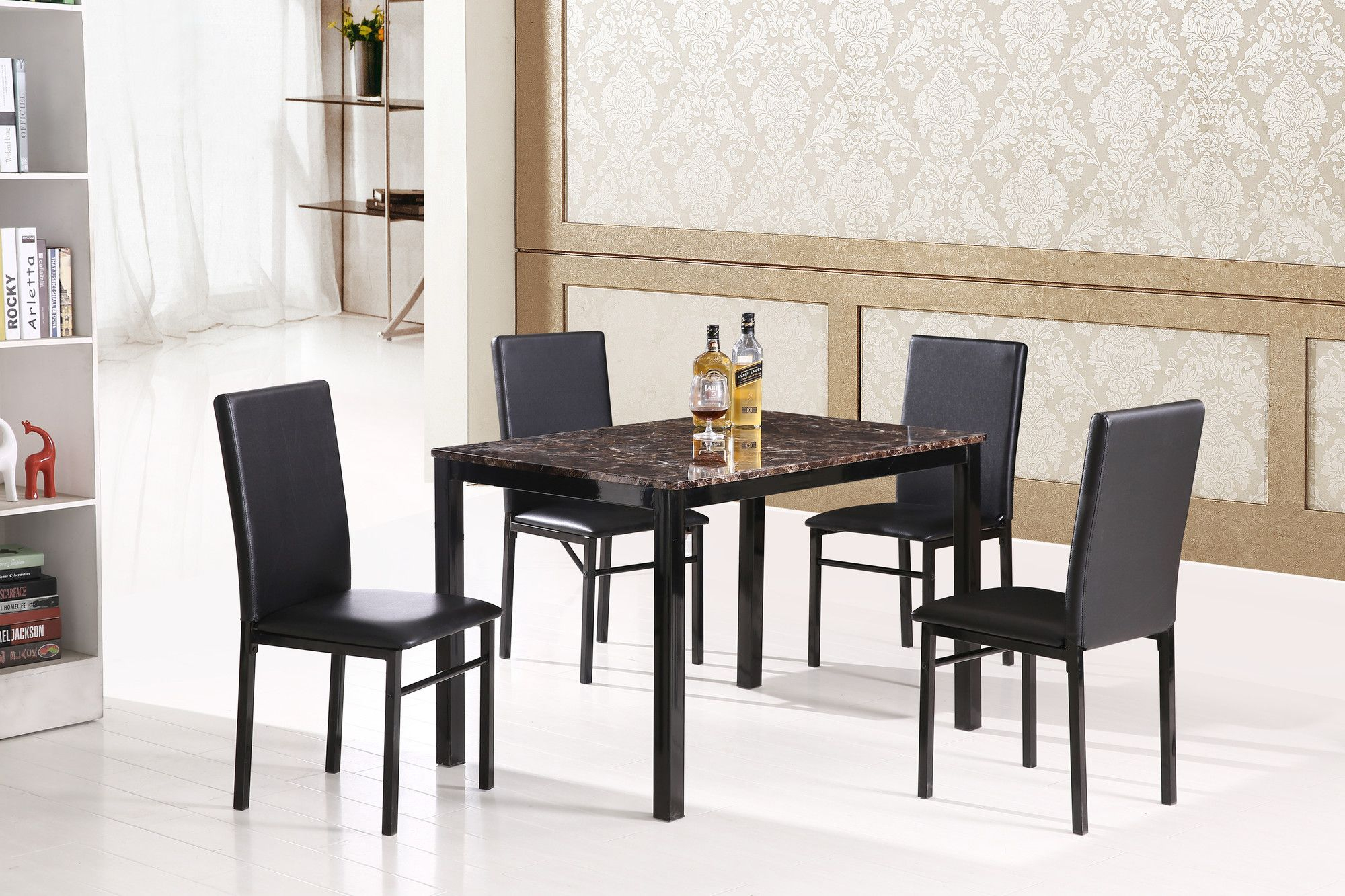 5 Piece Dining Set | Products | Marble Dining Table Set, Furniture In Most Recent Calla 5 Piece Dining Sets (Photo 5 of 20)