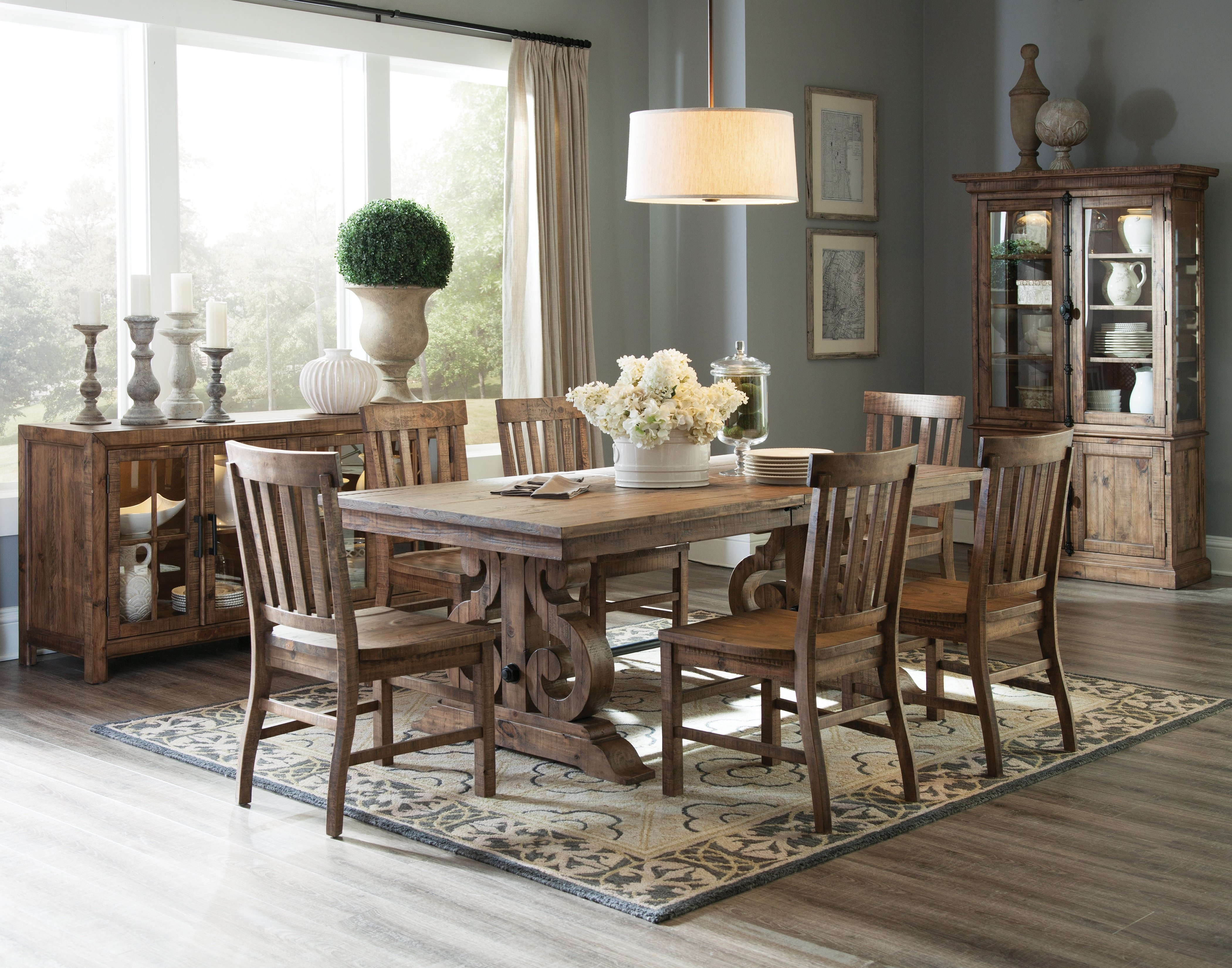 7 Piece Dining Set In Most Popular Queener 5 Piece Dining Sets (View 4 of 20)