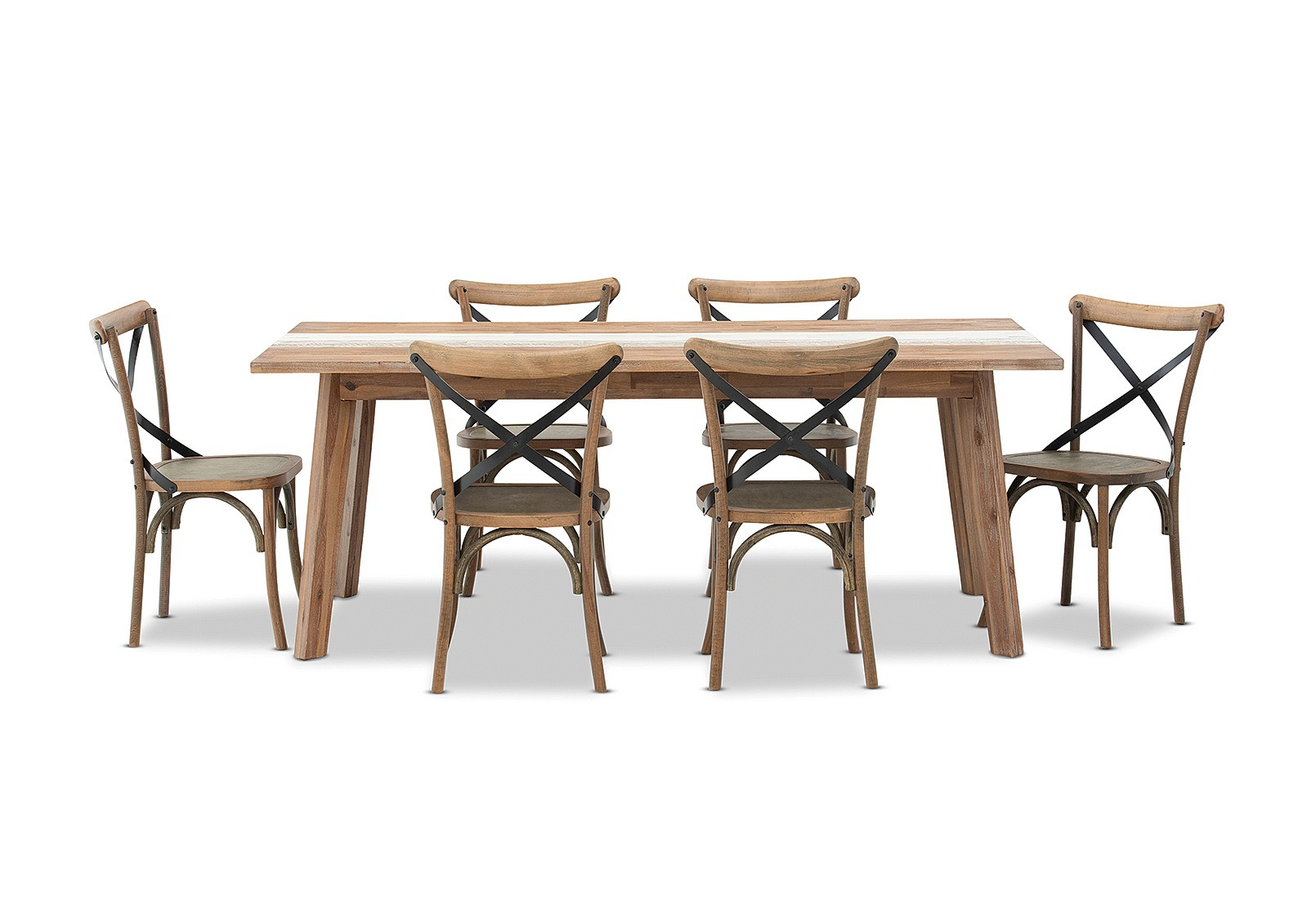 7 Piece Dining Sets | Amart Furniture With Most Up To Date West Hill Family Table 3 Piece Dining Sets (View 10 of 20)