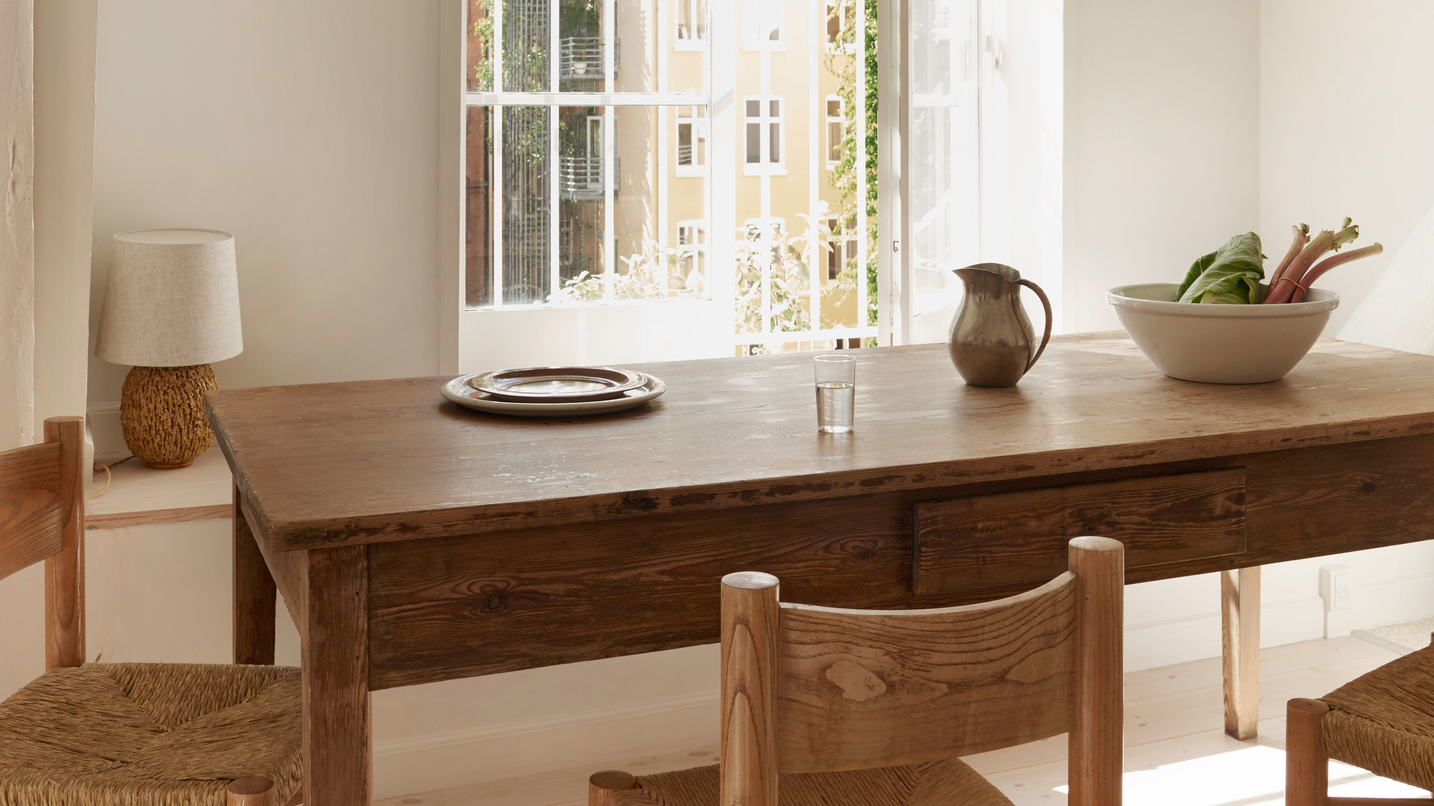 A Farm Table Sent Us Into Debt | Architectural Digest Within Most Up To Date Falmer 3 Piece Solid Wood Dining Sets (View 7 of 20)