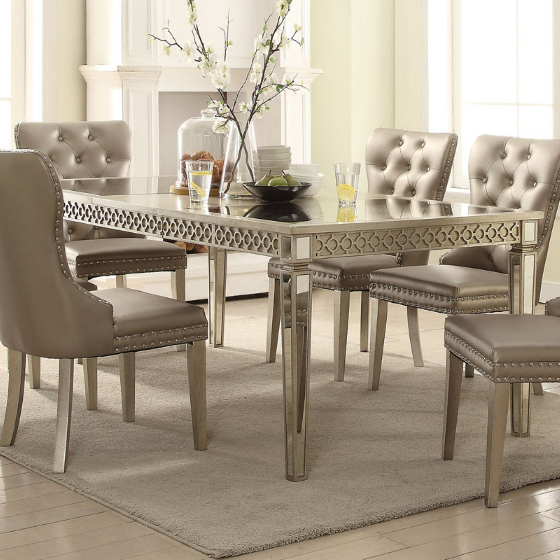 Acme Furniture Kacela Extension Dining Table | Kitchen In 2019 In Best And Newest Lamotte 5 Piece Dining Sets (Image 2 of 20)